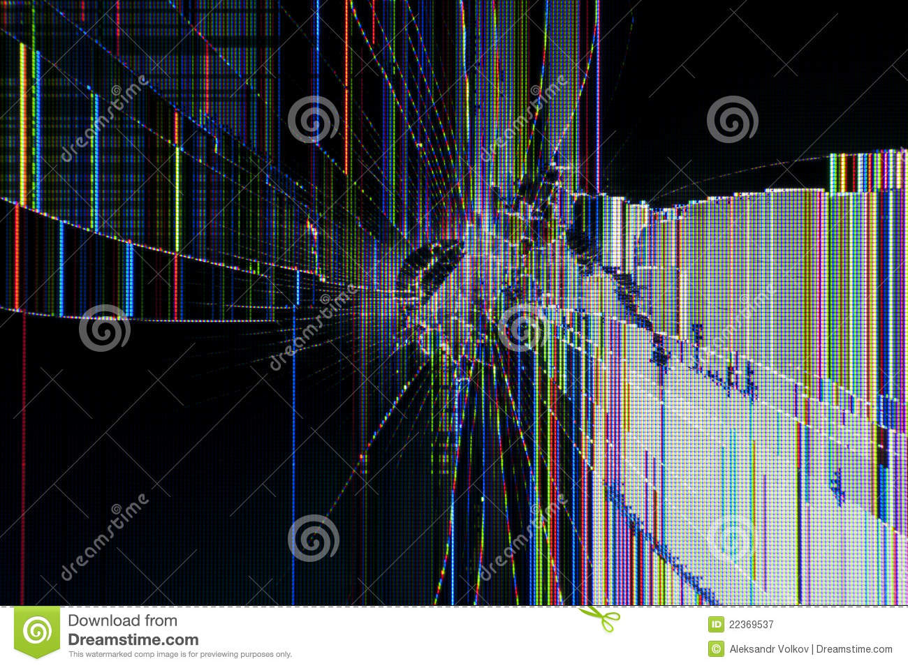 Abstract Background Cracked Display Stock Image - Image of ...