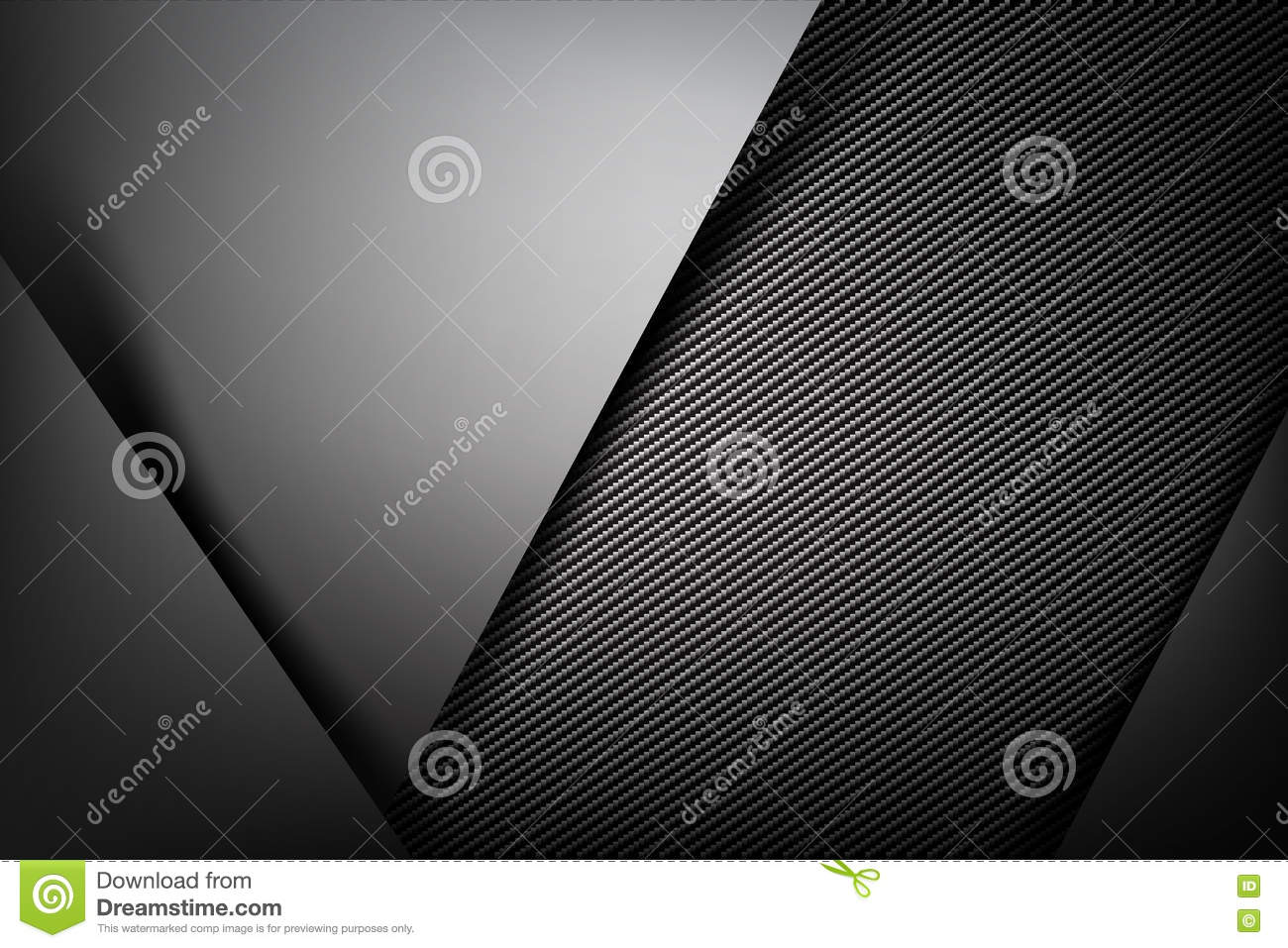 Abstract background dark with carbon fiber texture vector illustration eps10 007
