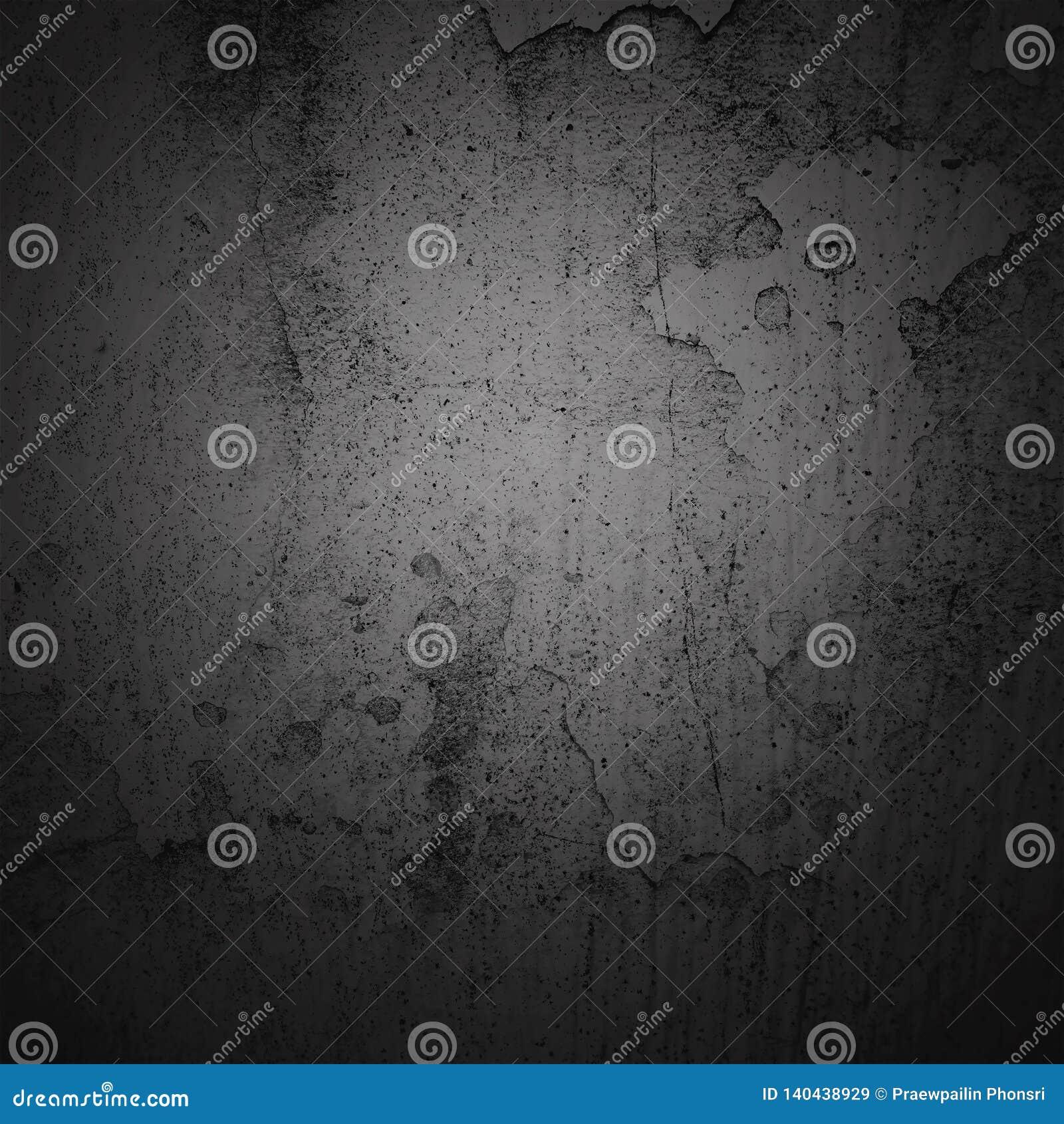 Abstract background dark vignette border frame with gray texture background. Vintage grunge background style
