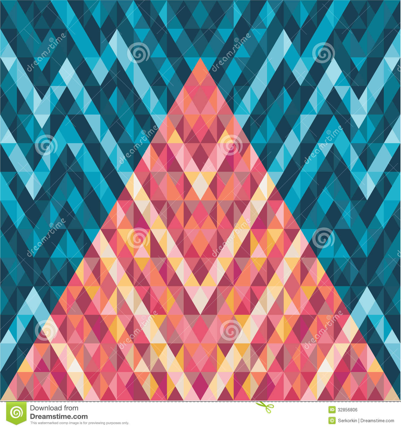 abstract background geometric vector pattern stock