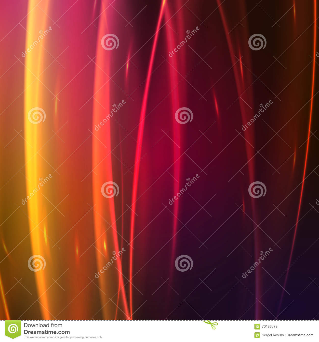 Abstract background with glow effect, vector