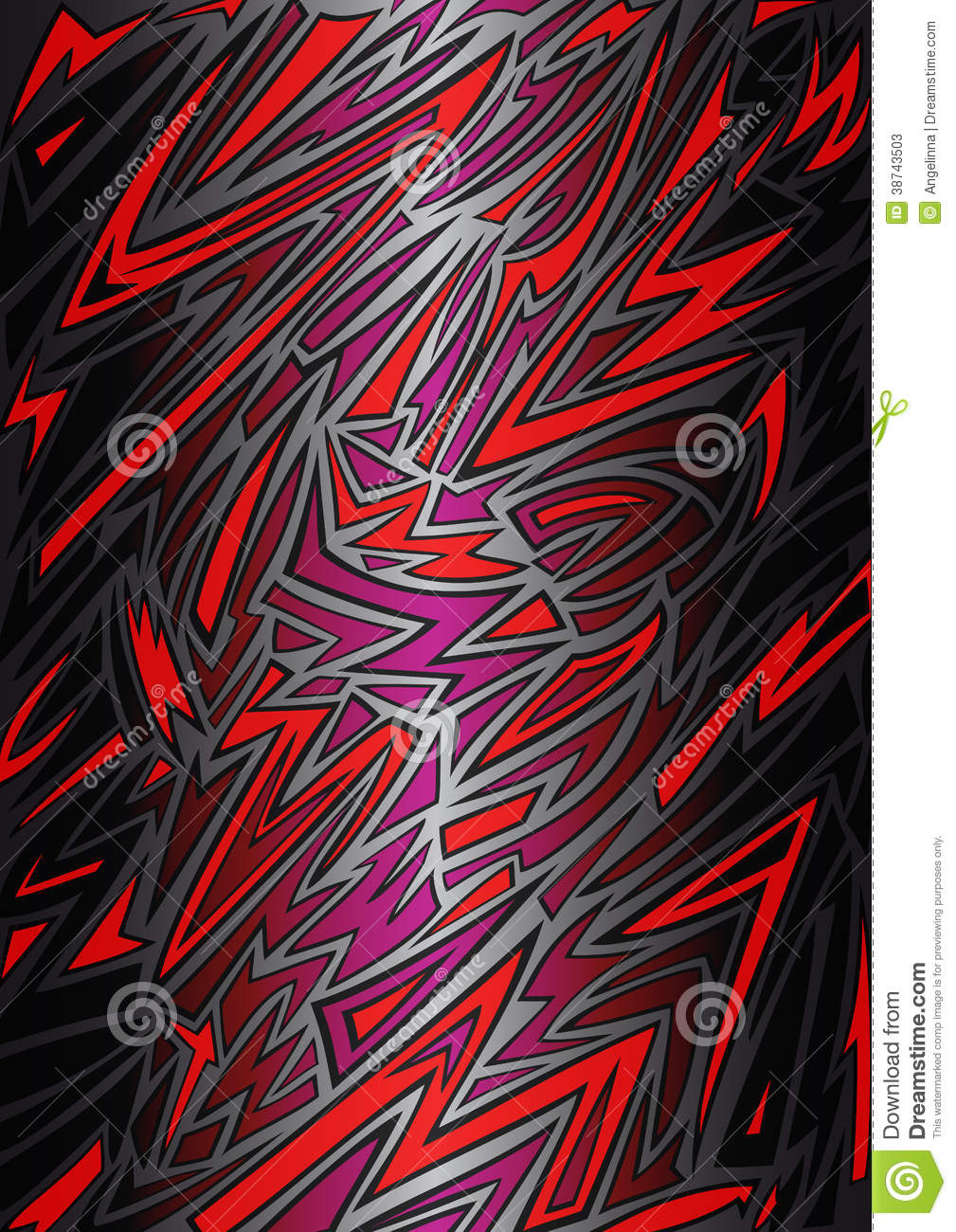 abstract background in graffiti style stock vector image
