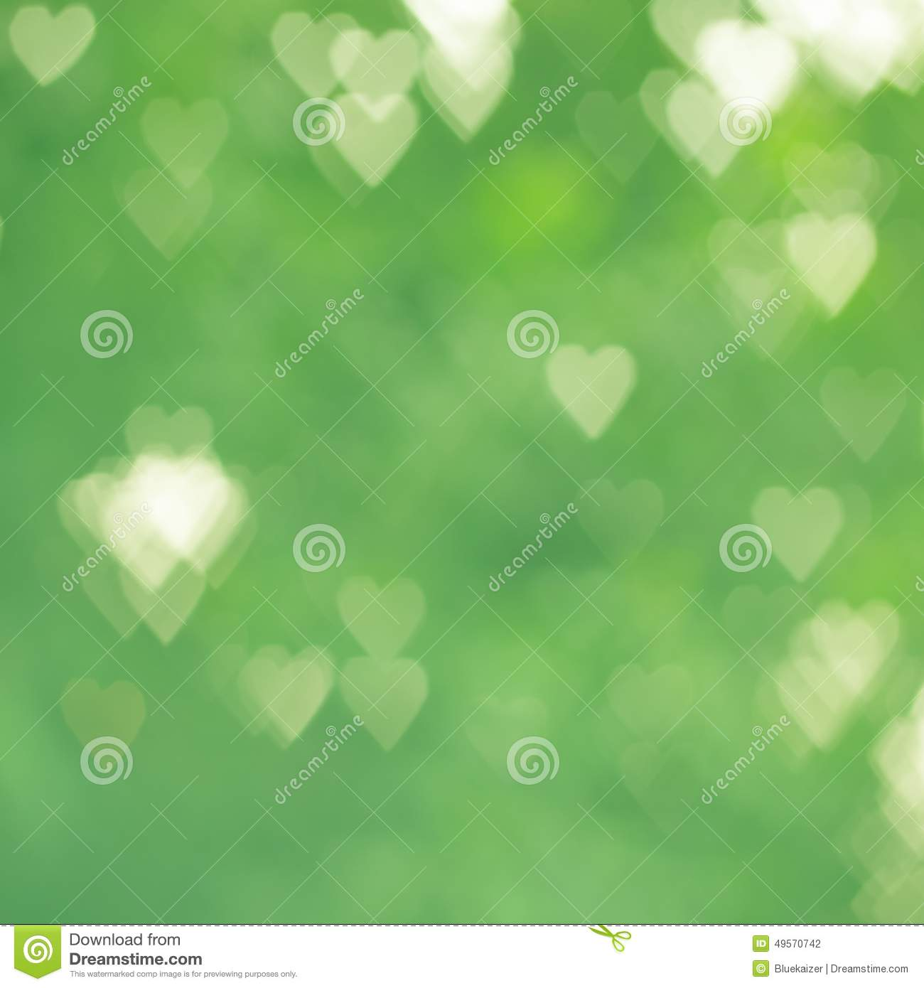 green hearts background - photo #27