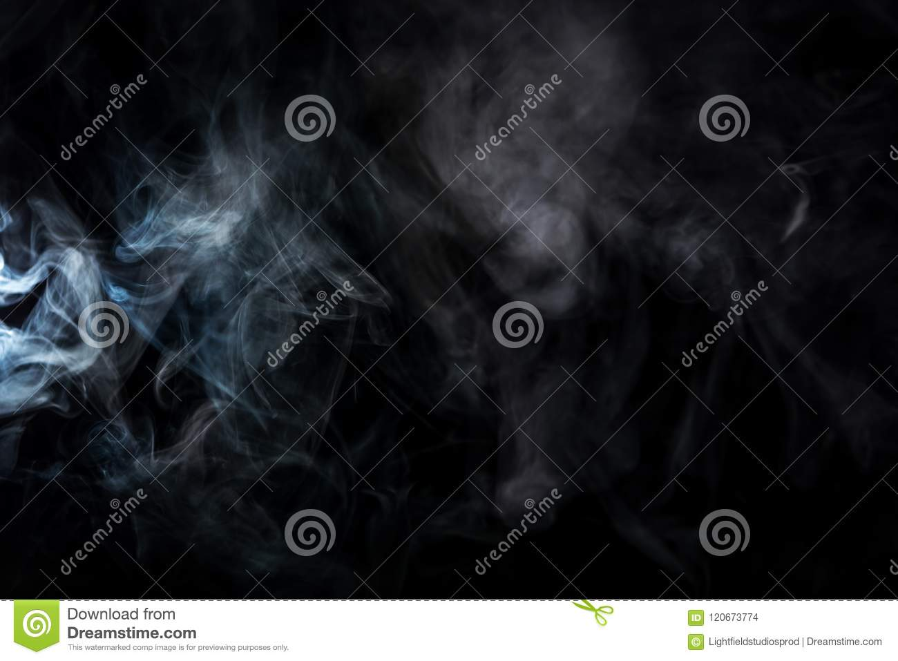 abstract background with grey smoky swirl