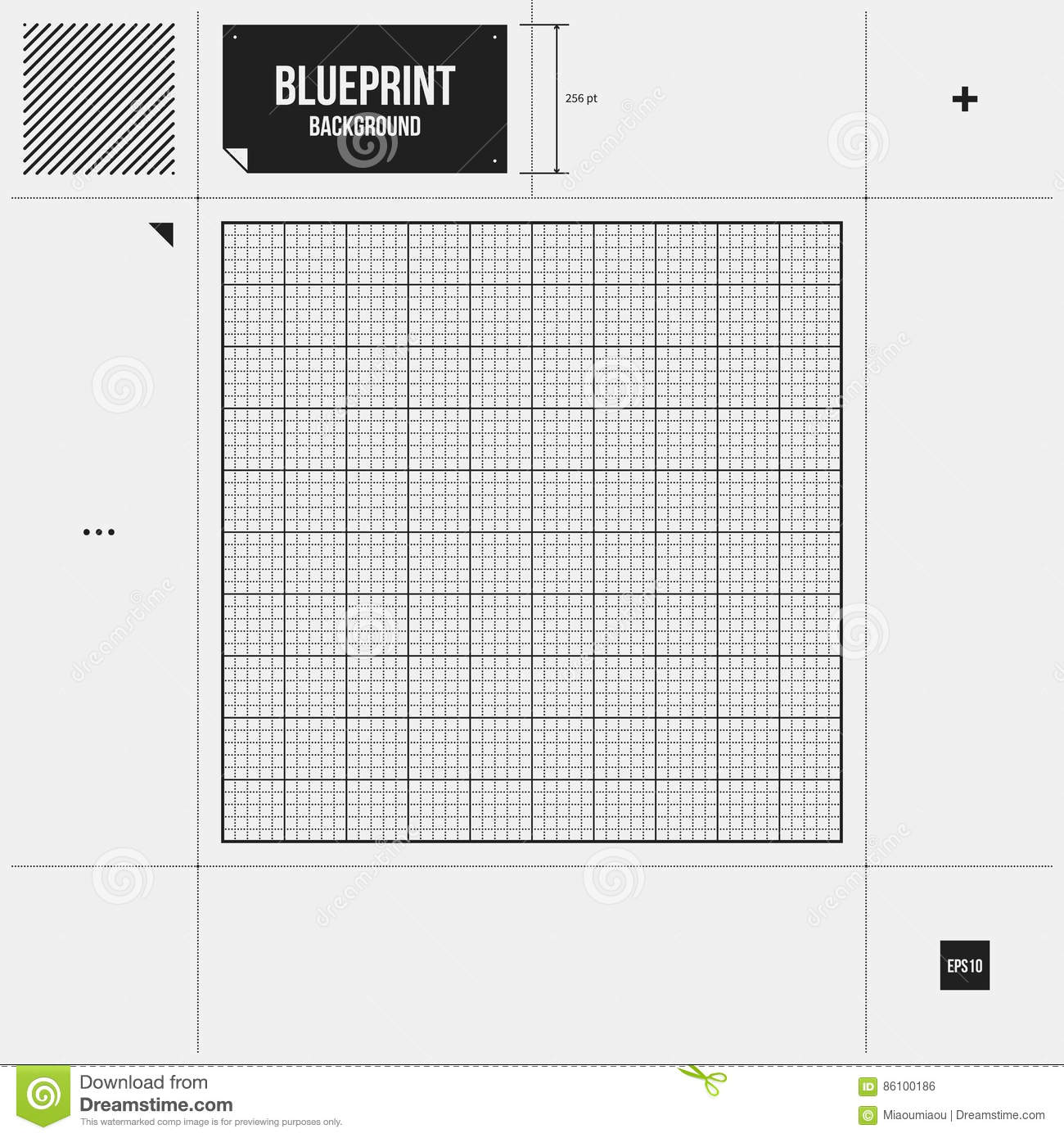 Abstract background with grid blueprint stock vector illustration abstract background with grid blueprint malvernweather Image collections