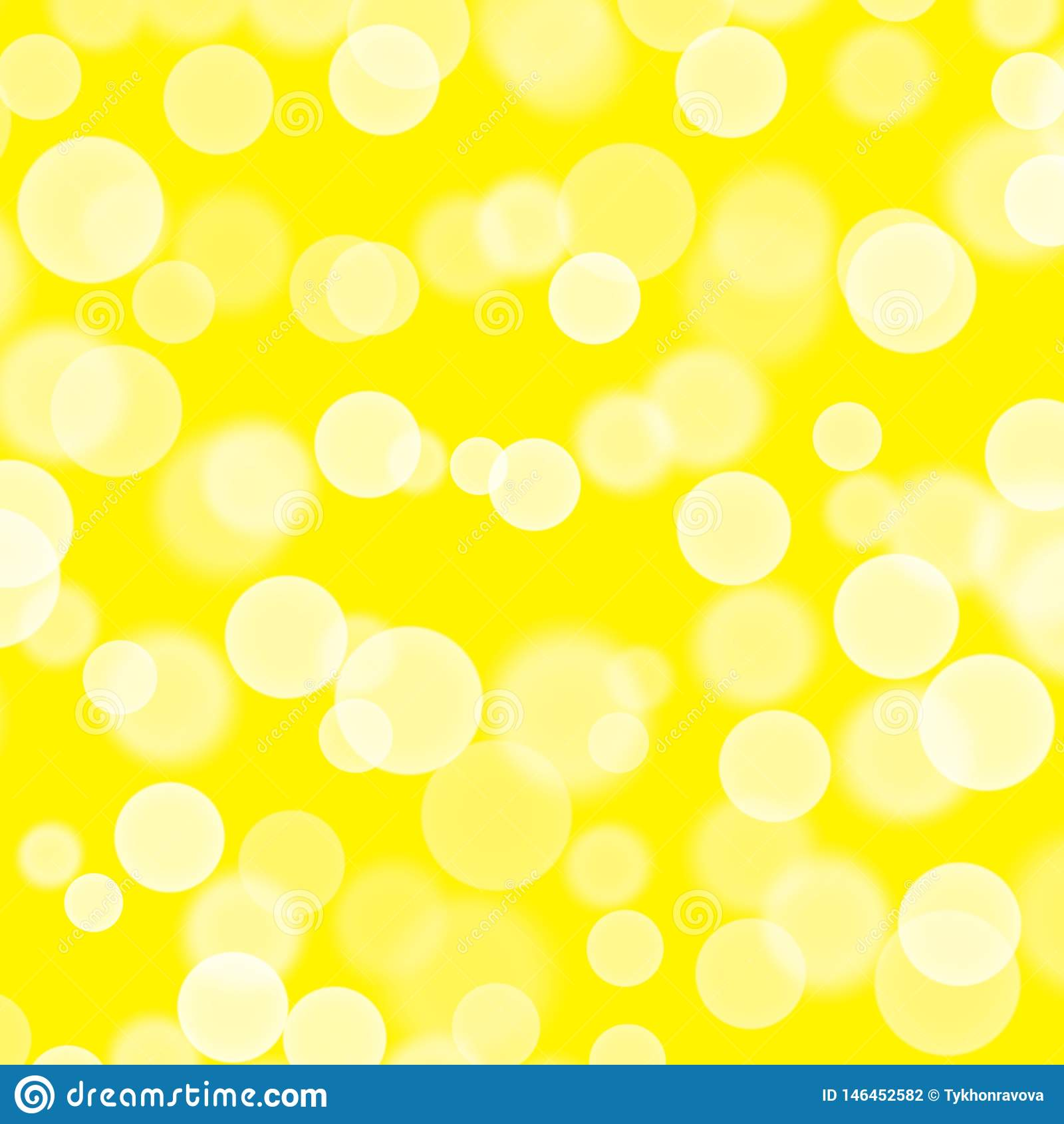 Abstract background. Hand drawn texture card. Splashes bubbles gum. Design for backgrounds, wallpapers, covers packaging Yellow