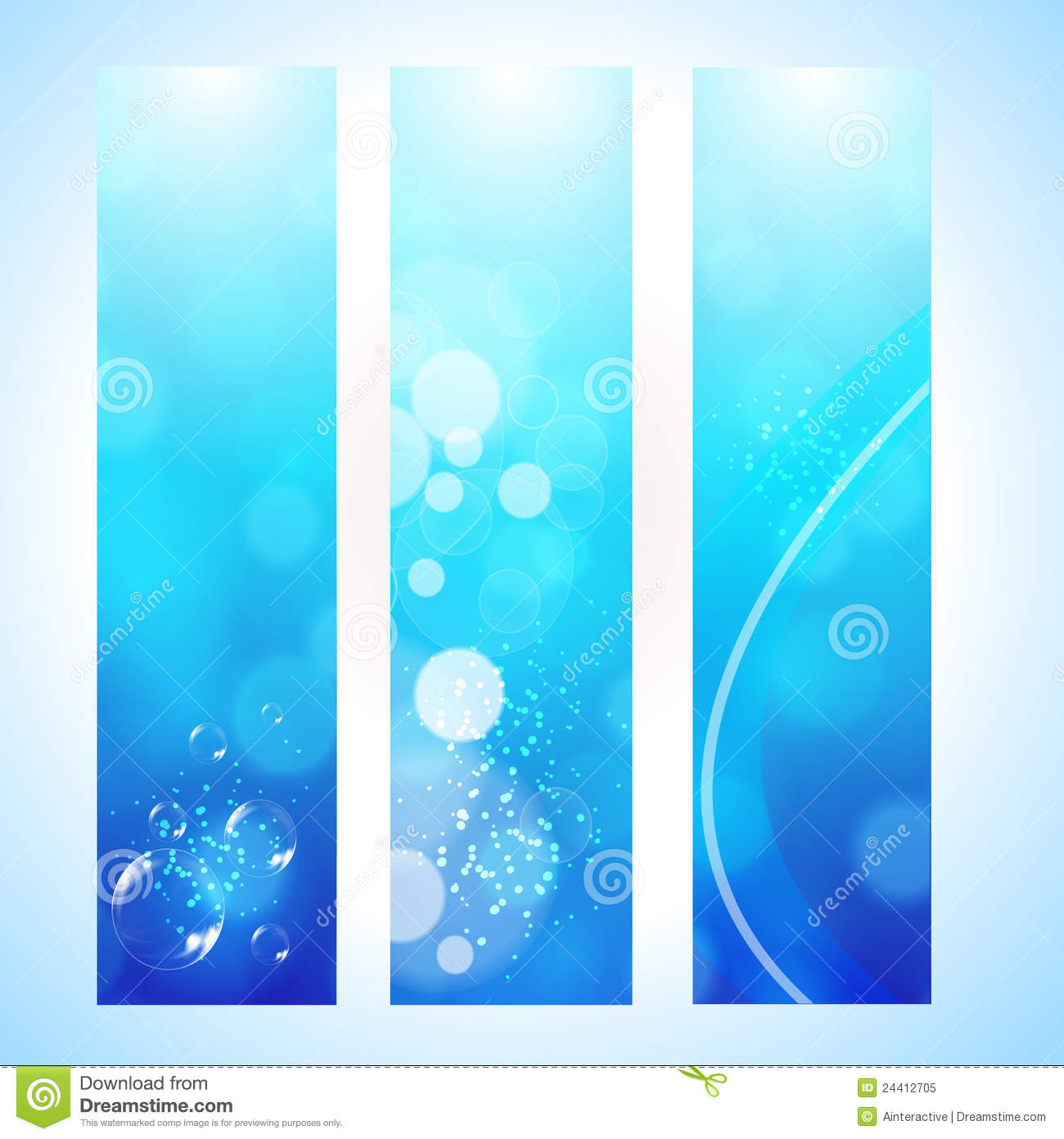 Background image header - Abstract Background Header With Water Wave Royalty Free Stock Photo