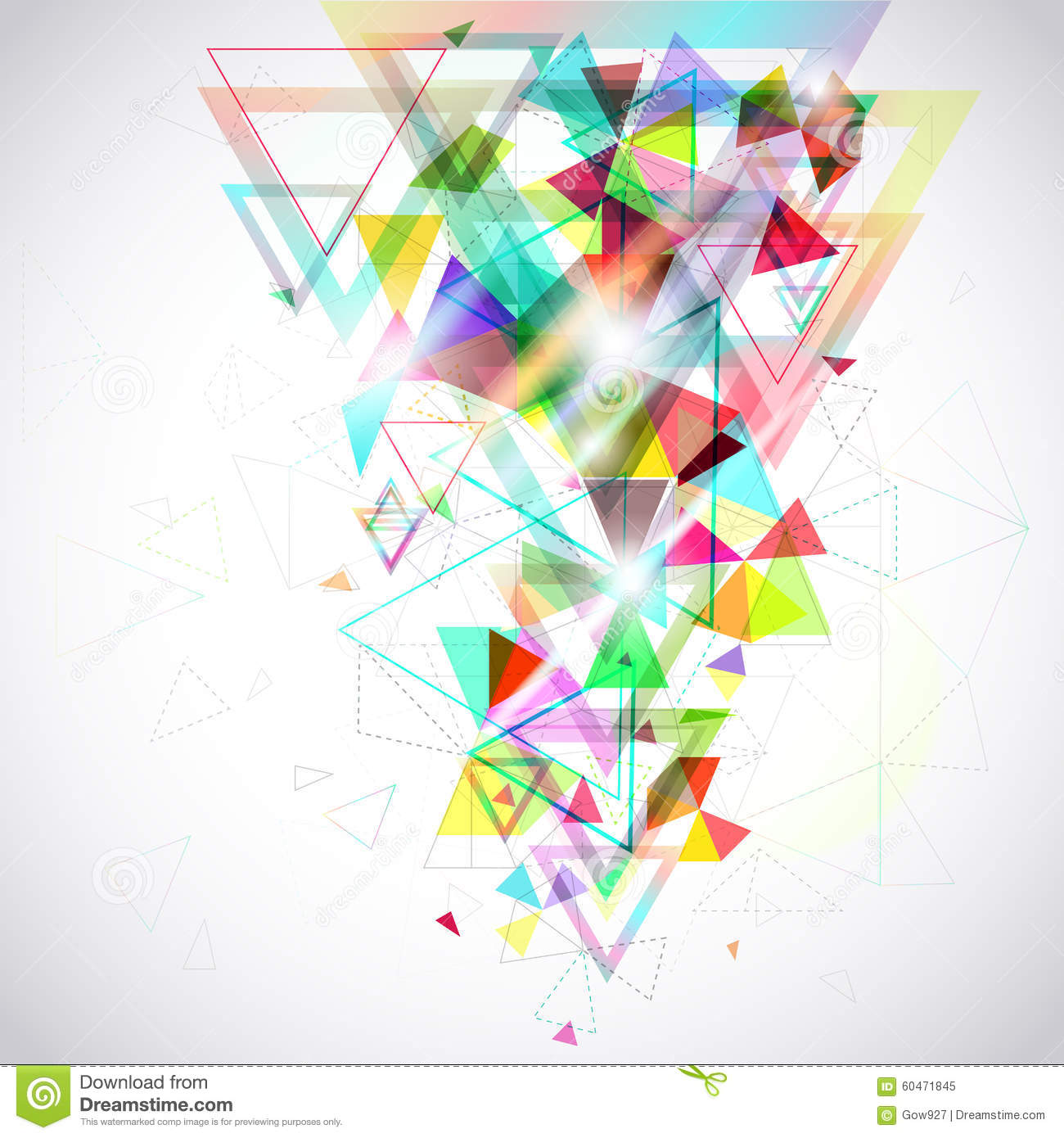 polygon shape abstract design - photo #13