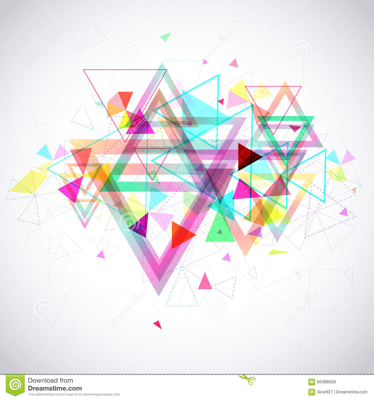 polygon shape abstract design - photo #3