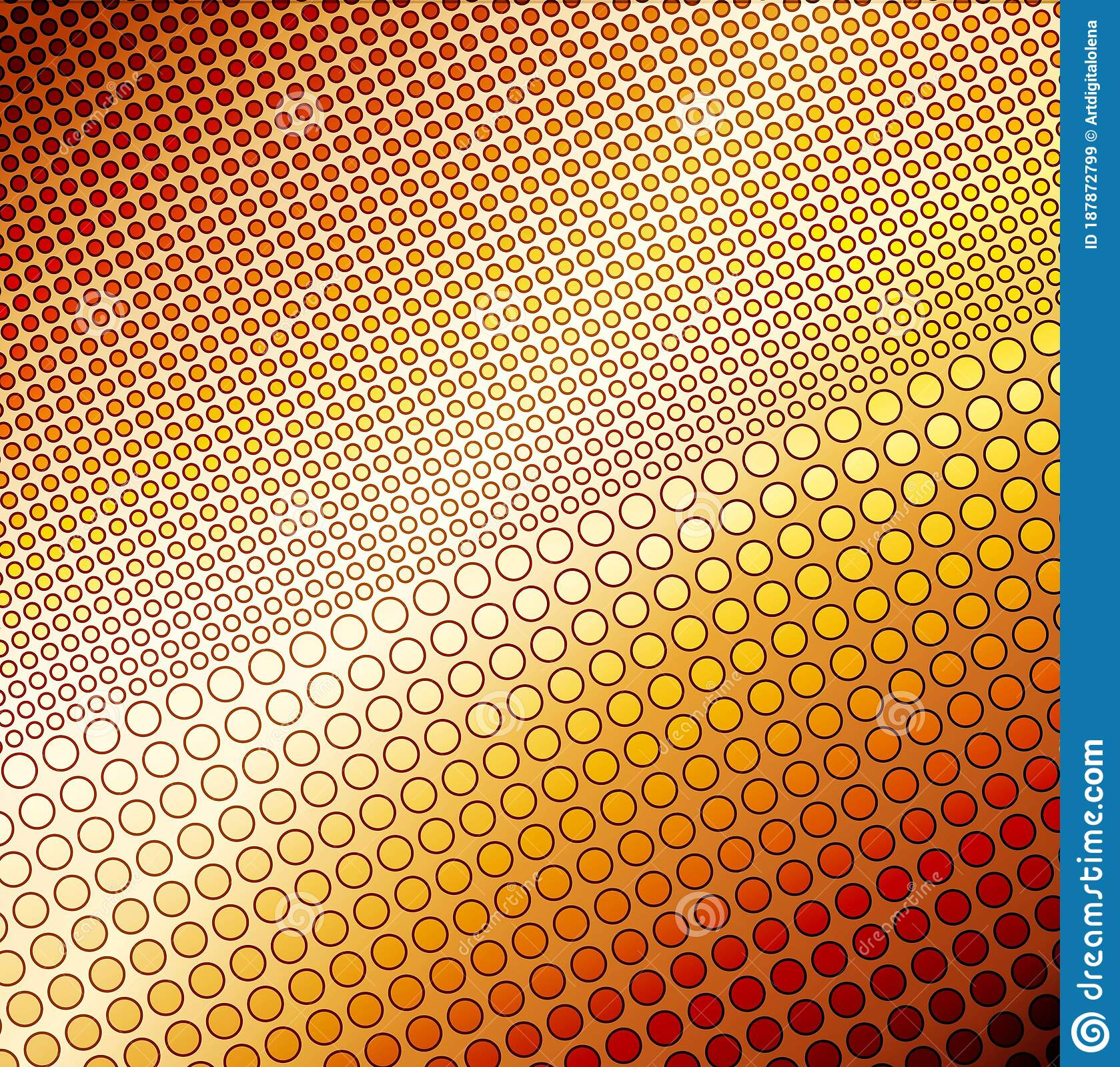 Abstract Background With Honeycomb Stock Illustration