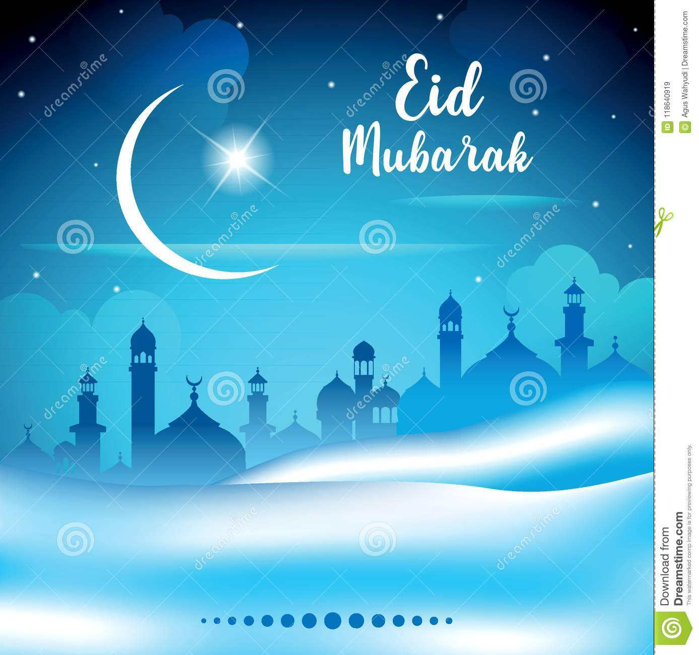 Abstract background for islamic greeting eid mubarak translation download abstract background for islamic greeting eid mubarak translation blessed festival stock illustration m4hsunfo