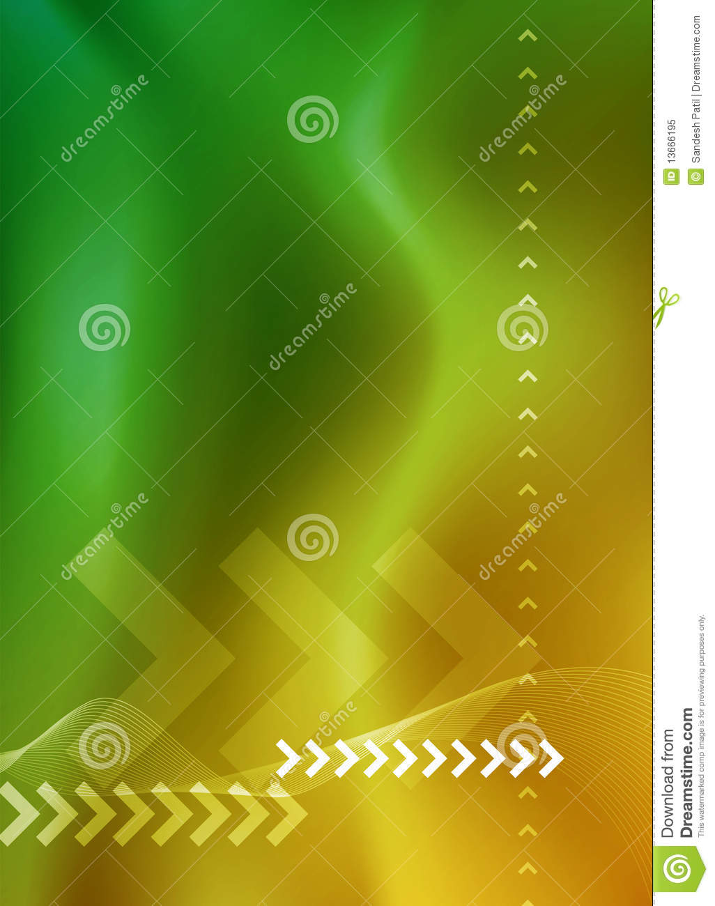 Abstract Background layout