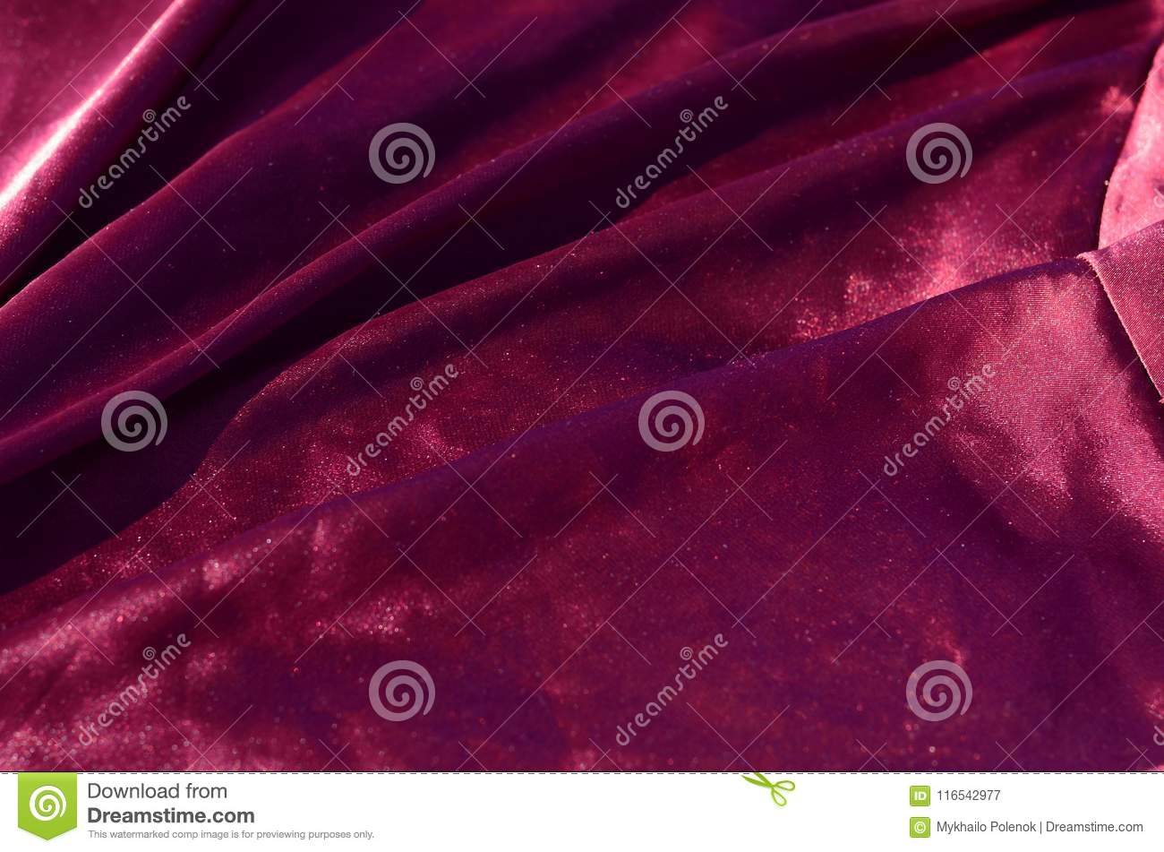 Abstract background luxury cloth or liquid wave or wavy folds of grunge silk texture satin velvet material or luxurious Christmas