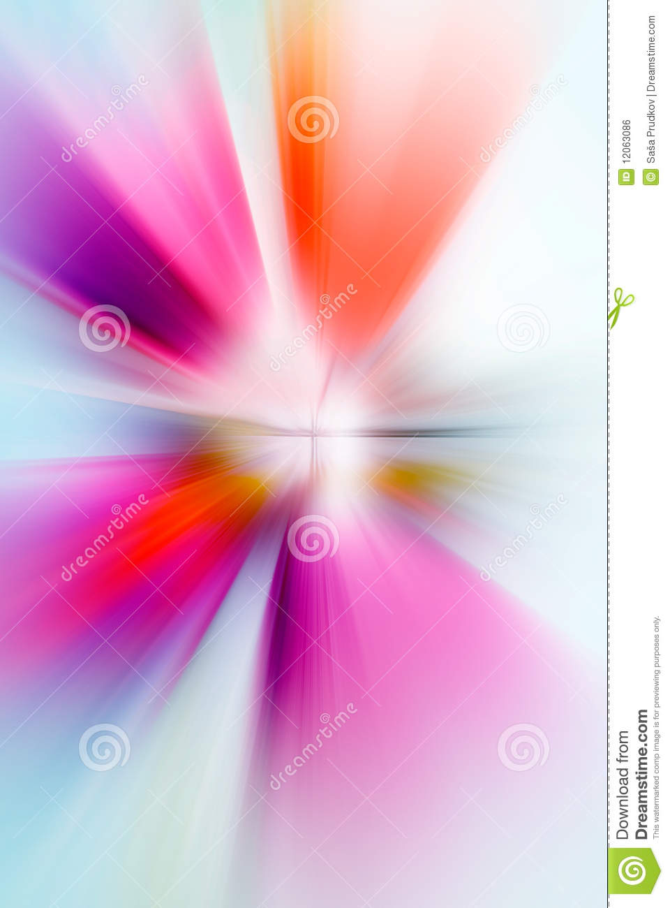 Abstract background made of exploding colors
