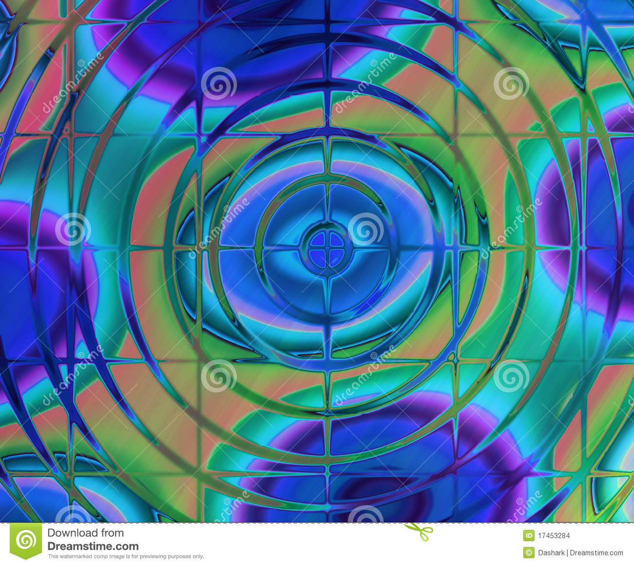 Abstract Background Of Magic Burst Stock Images