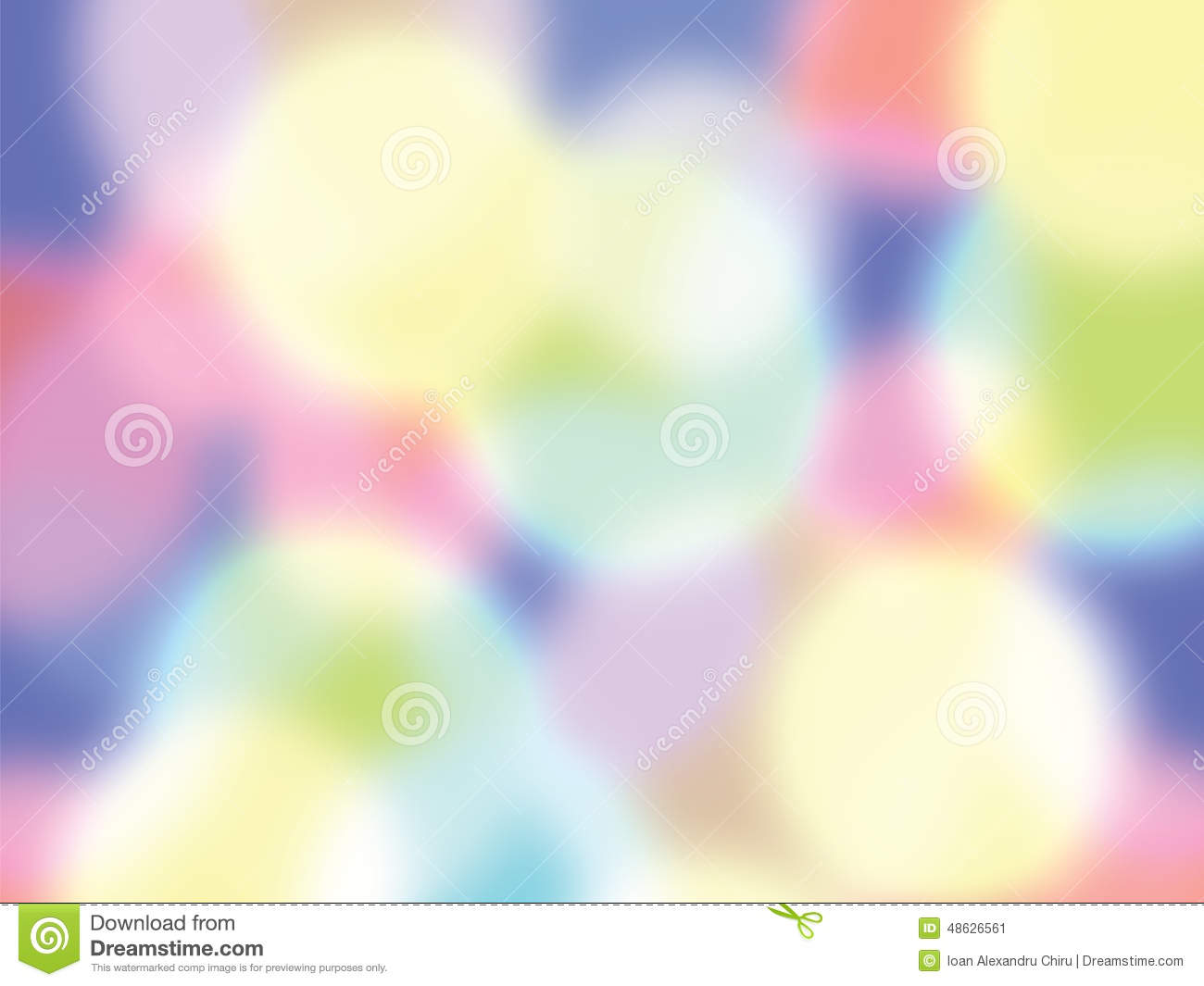 Abstract background with many colour