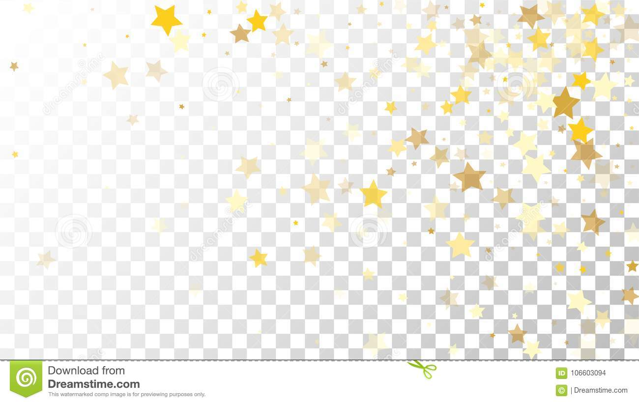 Christmas Invitation Background Png.Abstract Background With Many Random Falling Golden Stars