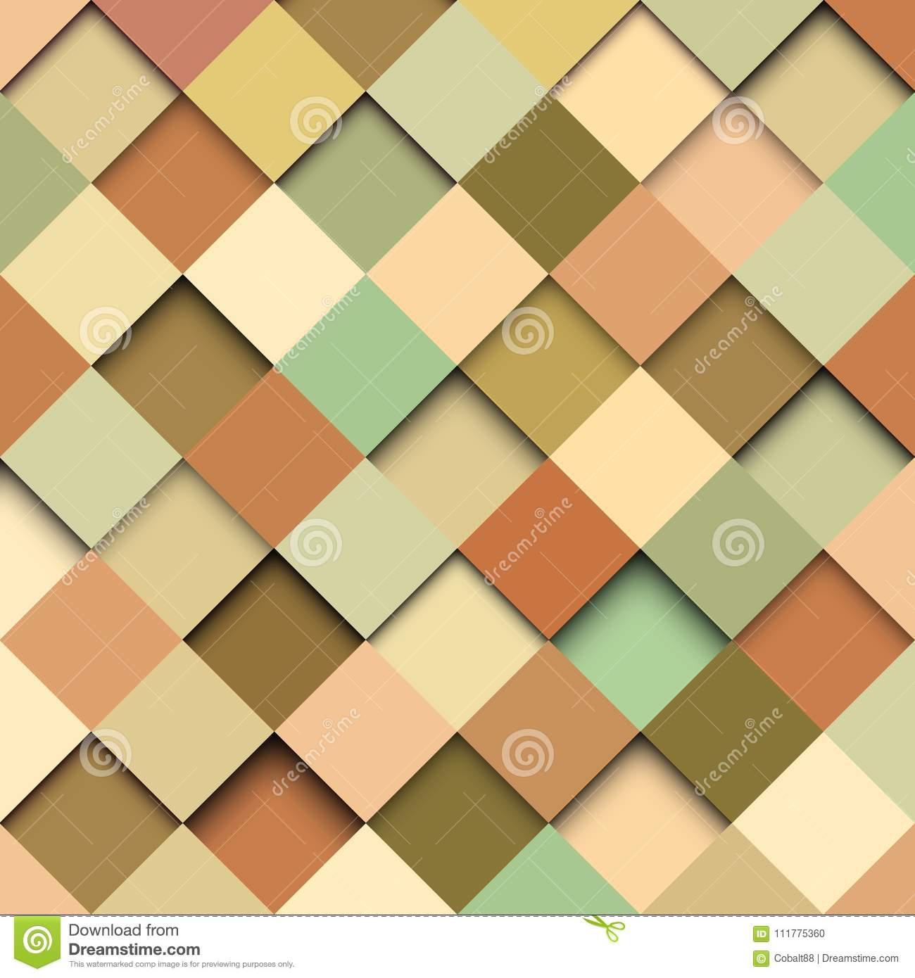 Abstract background mosaic