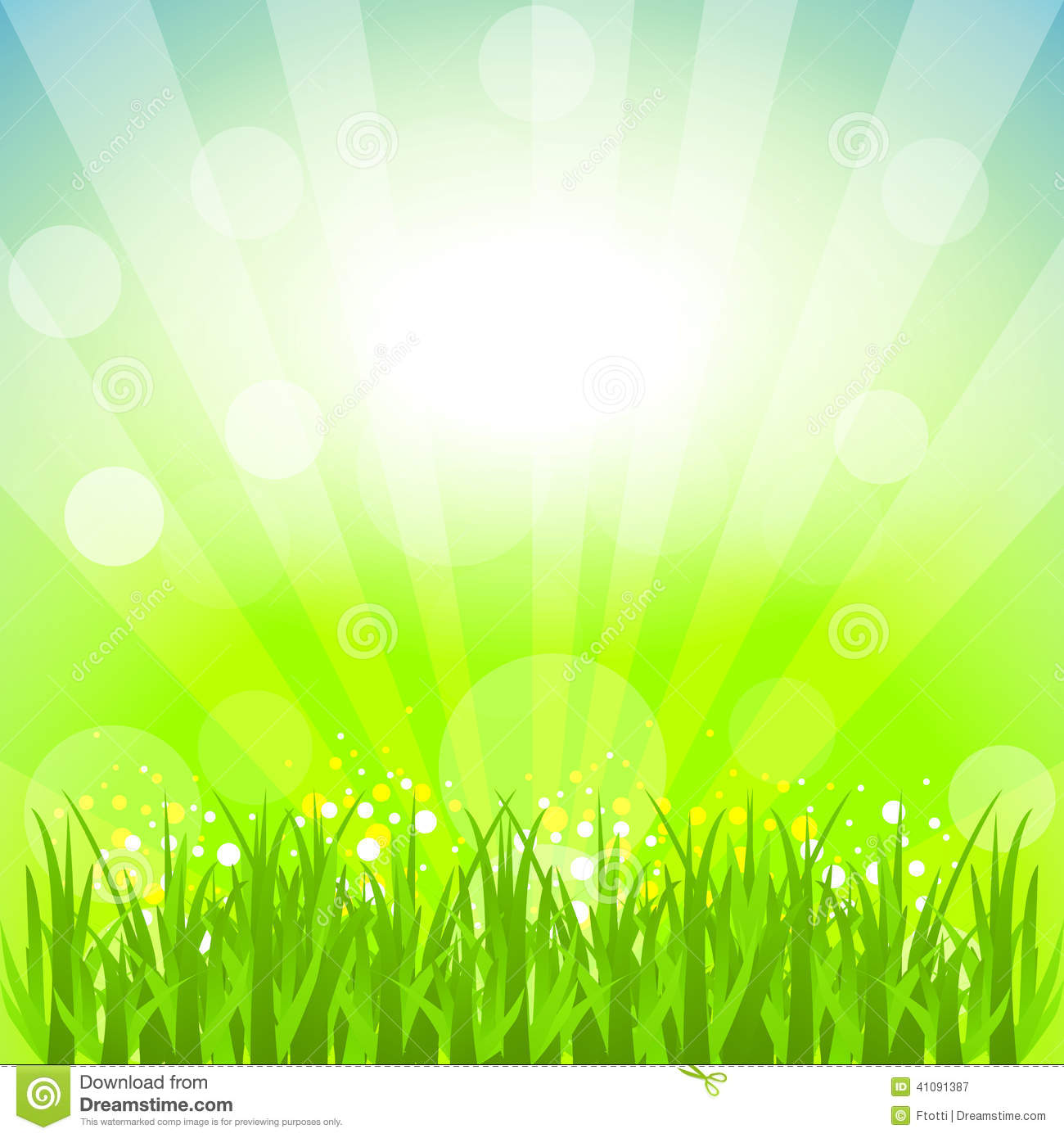 Abstract Background With Nature Theme Stock Vector Image