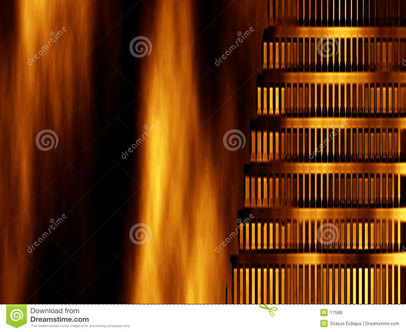 Abstract background- Nero burned Rome