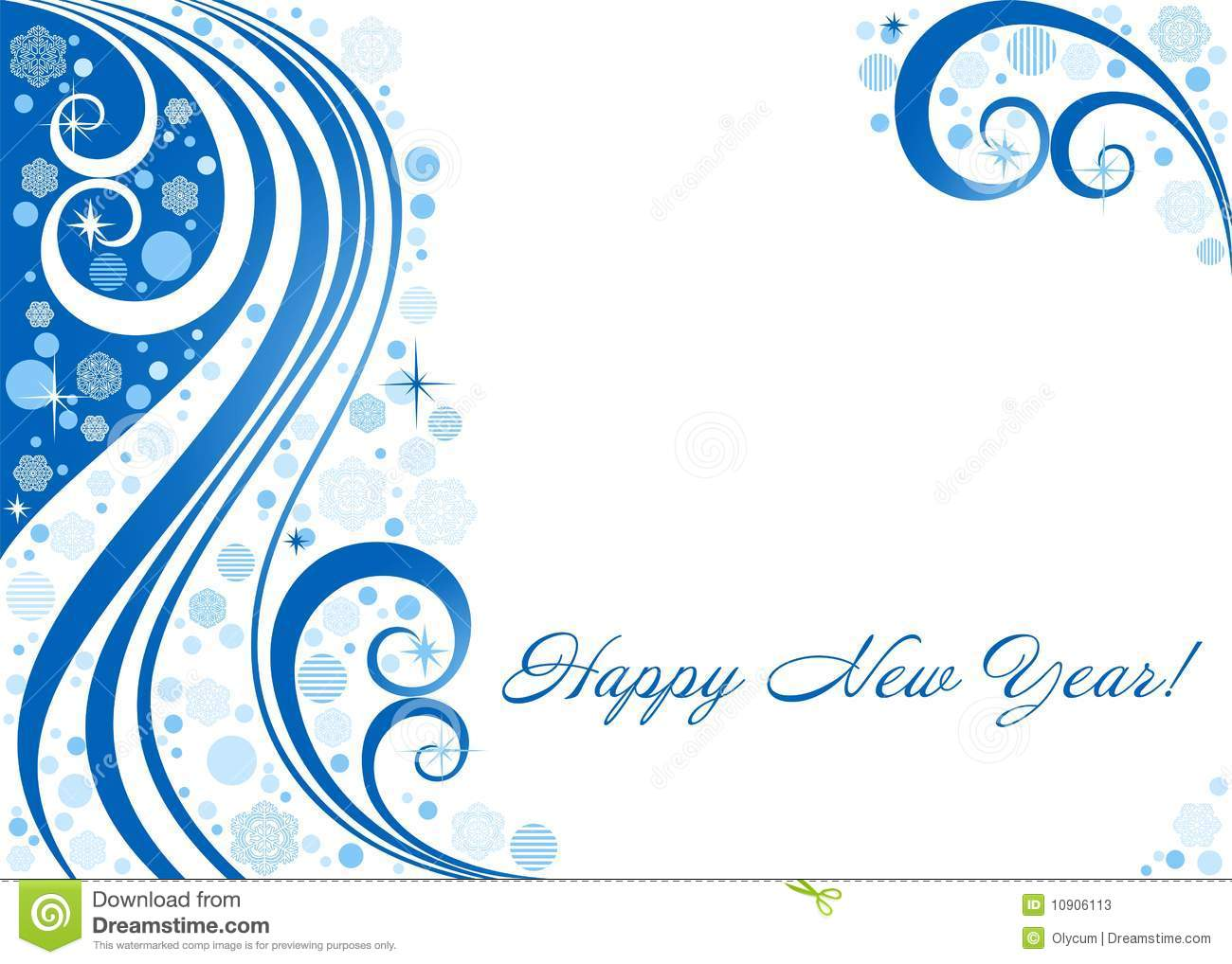 abstract background on a new year s theme