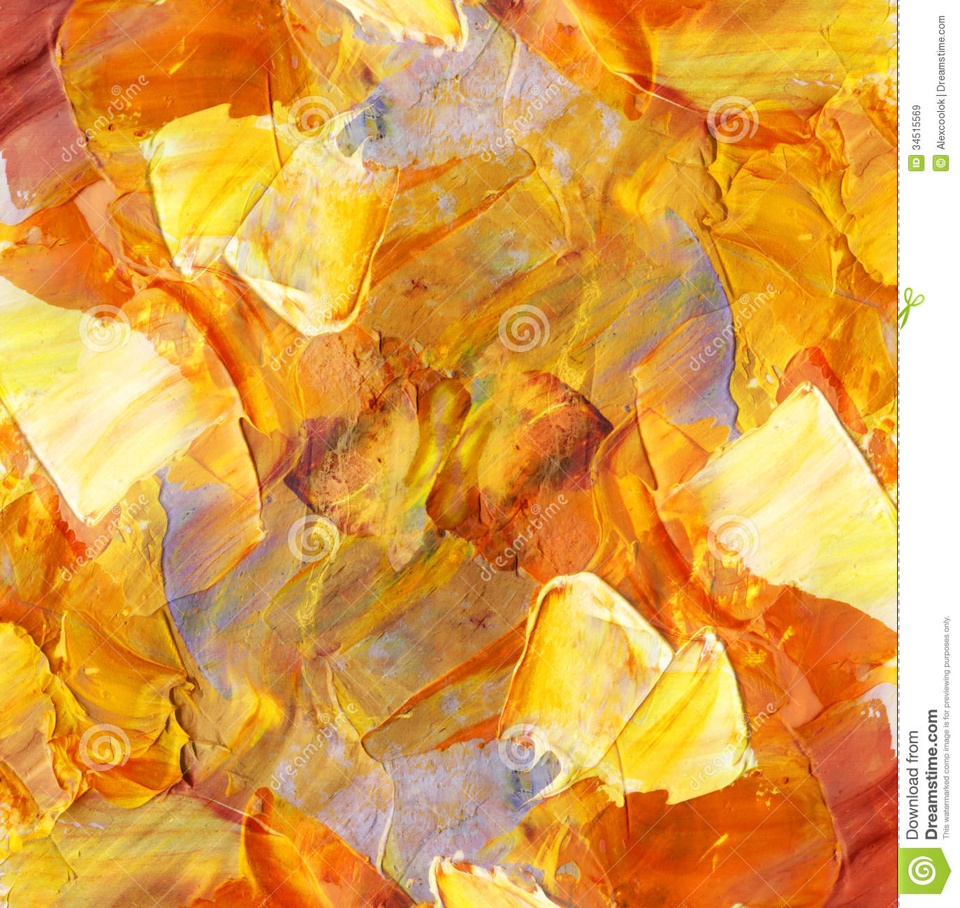 How To Paint Fire With Oil Paints