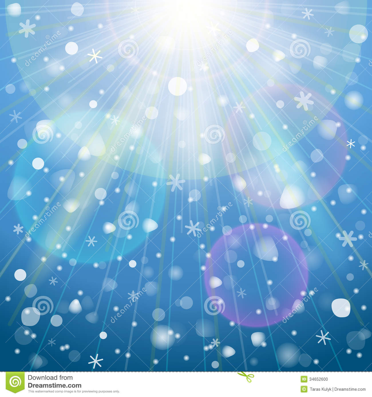 Eps 10 background for christmas new years day winter holiday
