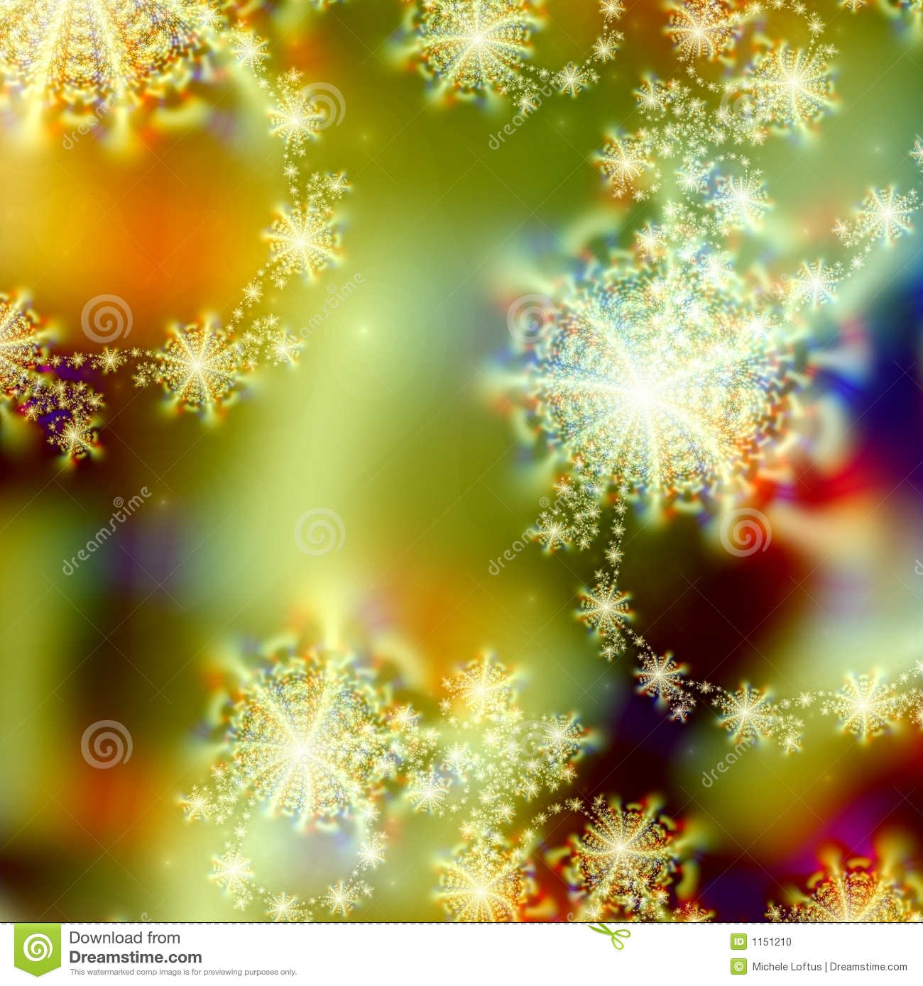 Abstract Background Pattern Design Of Holiday Lights And