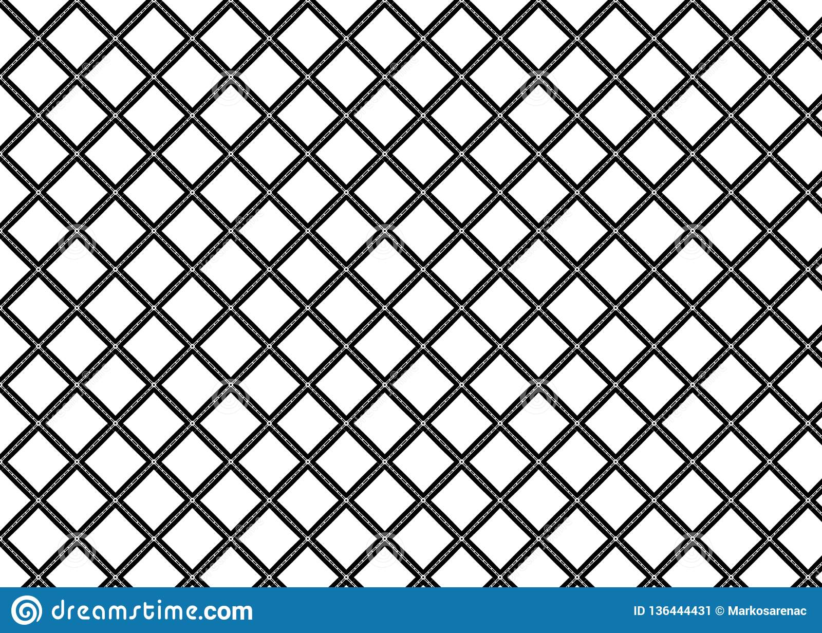 Pattern Abstract Art Shapes Deco Lines B W Stock