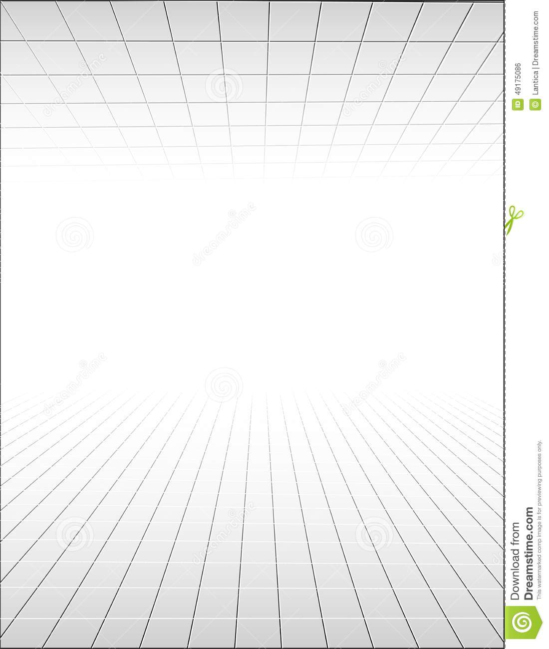 Abstract Background With A Perspective Grid Stock Vector