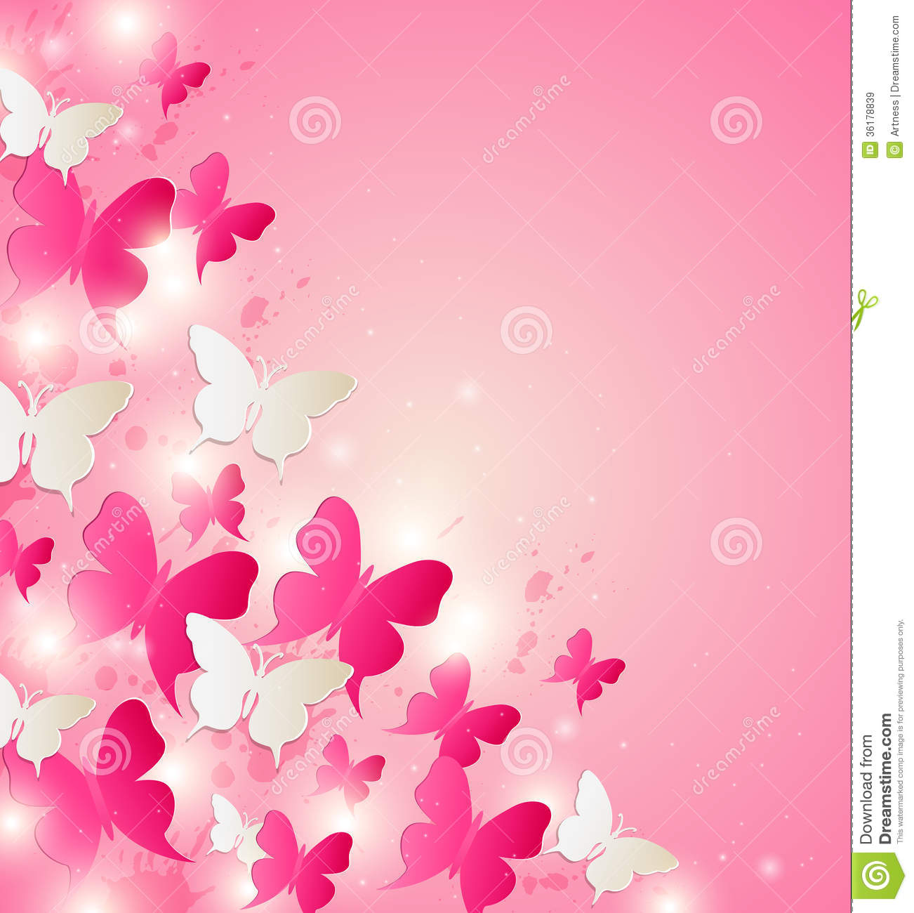 Pink butterfly vector background hd wallpapers pink butterfly vector - Abstract Background Red Vector White Butterfly Holiday Design Valentine Pink