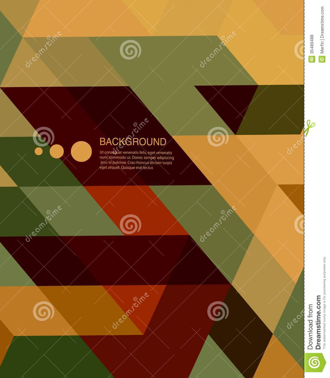 Abstract Book Cover Background ~ Retro mosaic abstract background cartoon vector