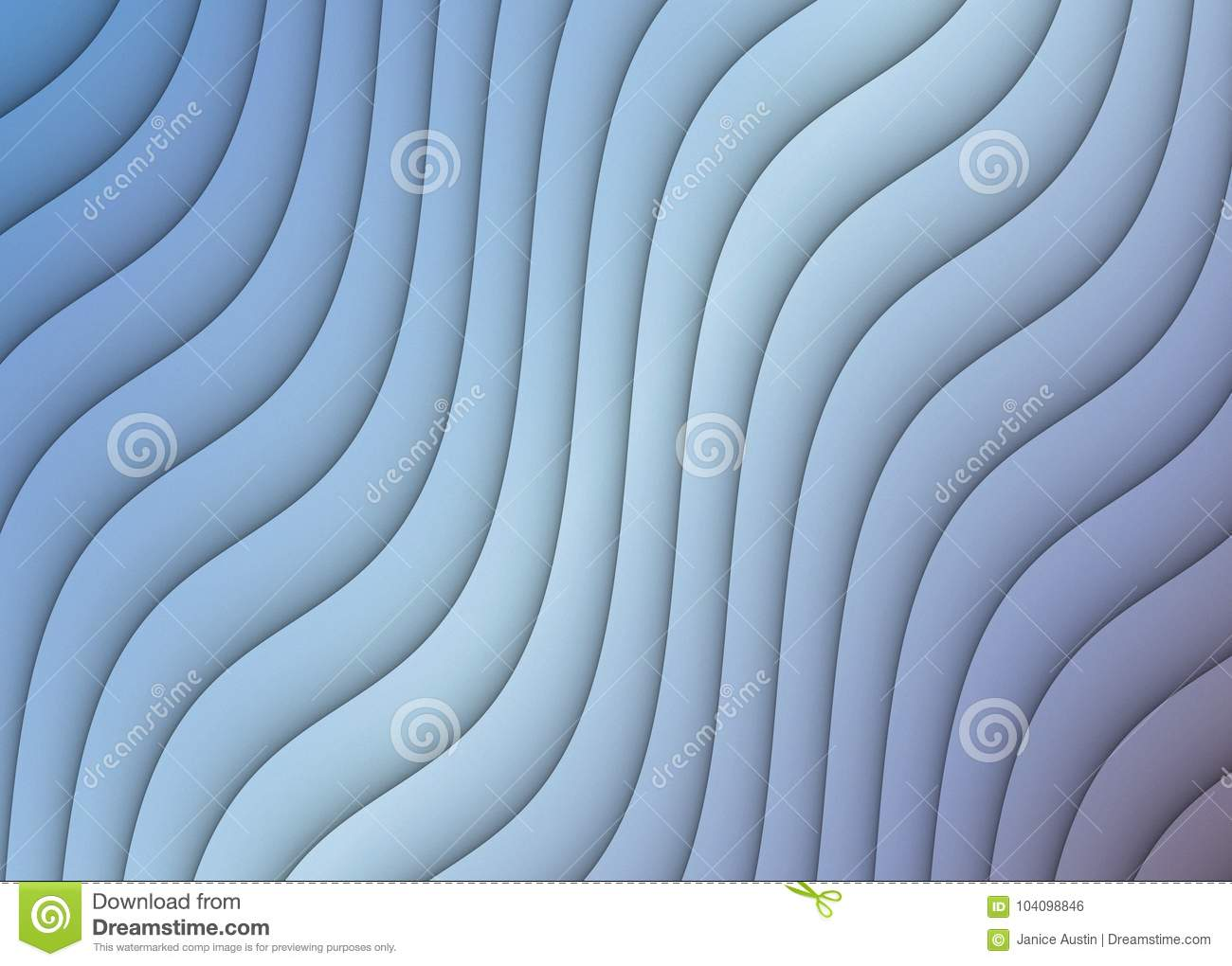 Abstract Background Ripples Curves Diagonal Cascading Design Blue Gray White