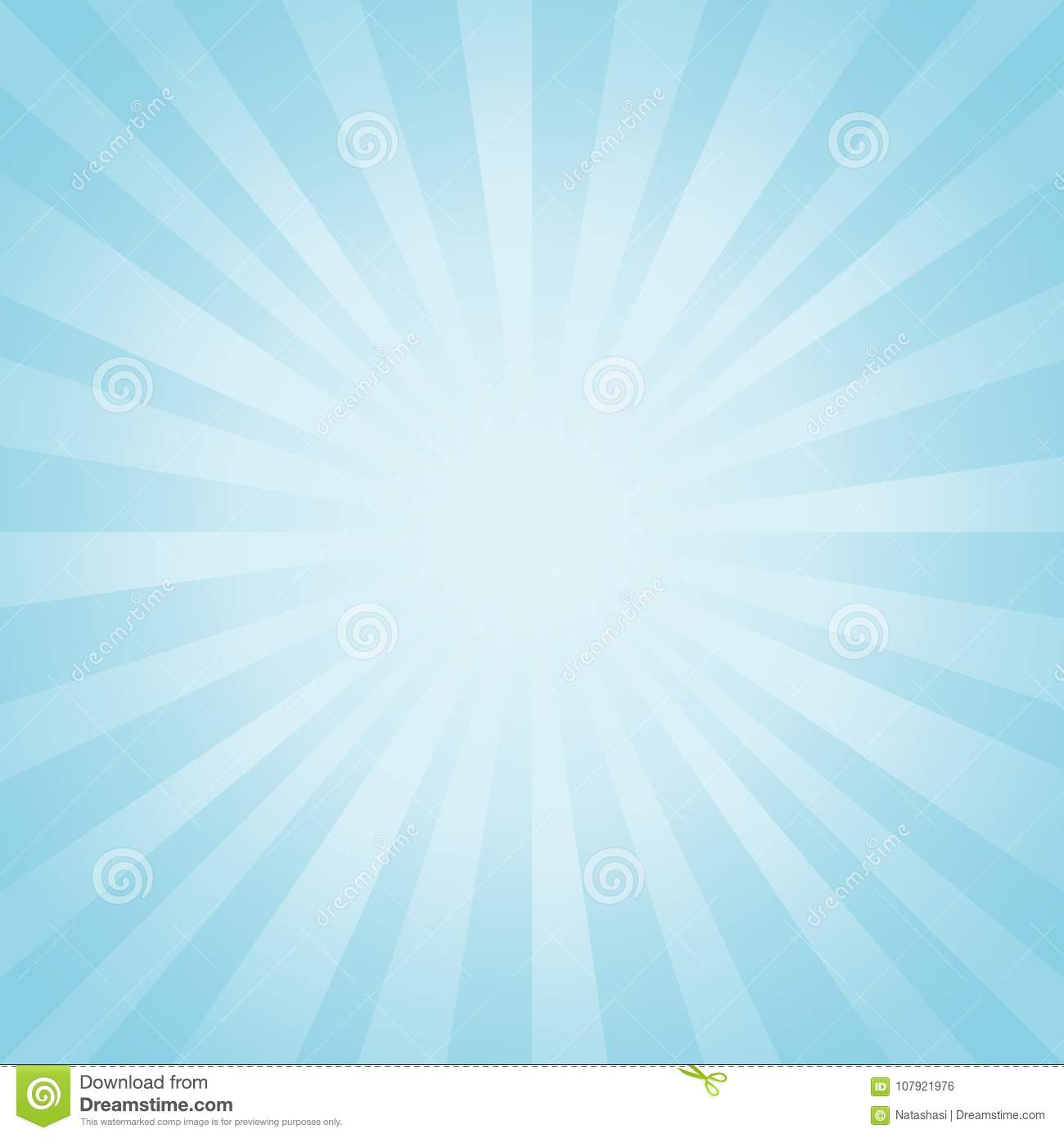 Abstract background. Soft light Blue rays background. Vector EPS 10 cmyk