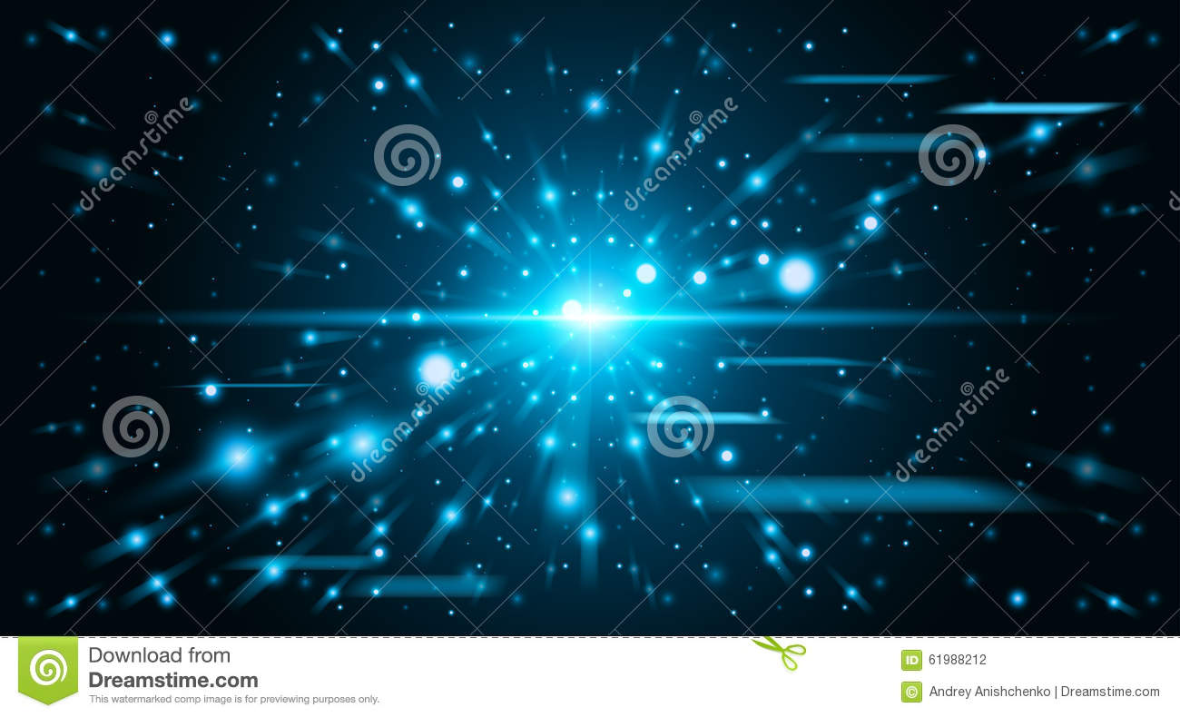 Abstract background space