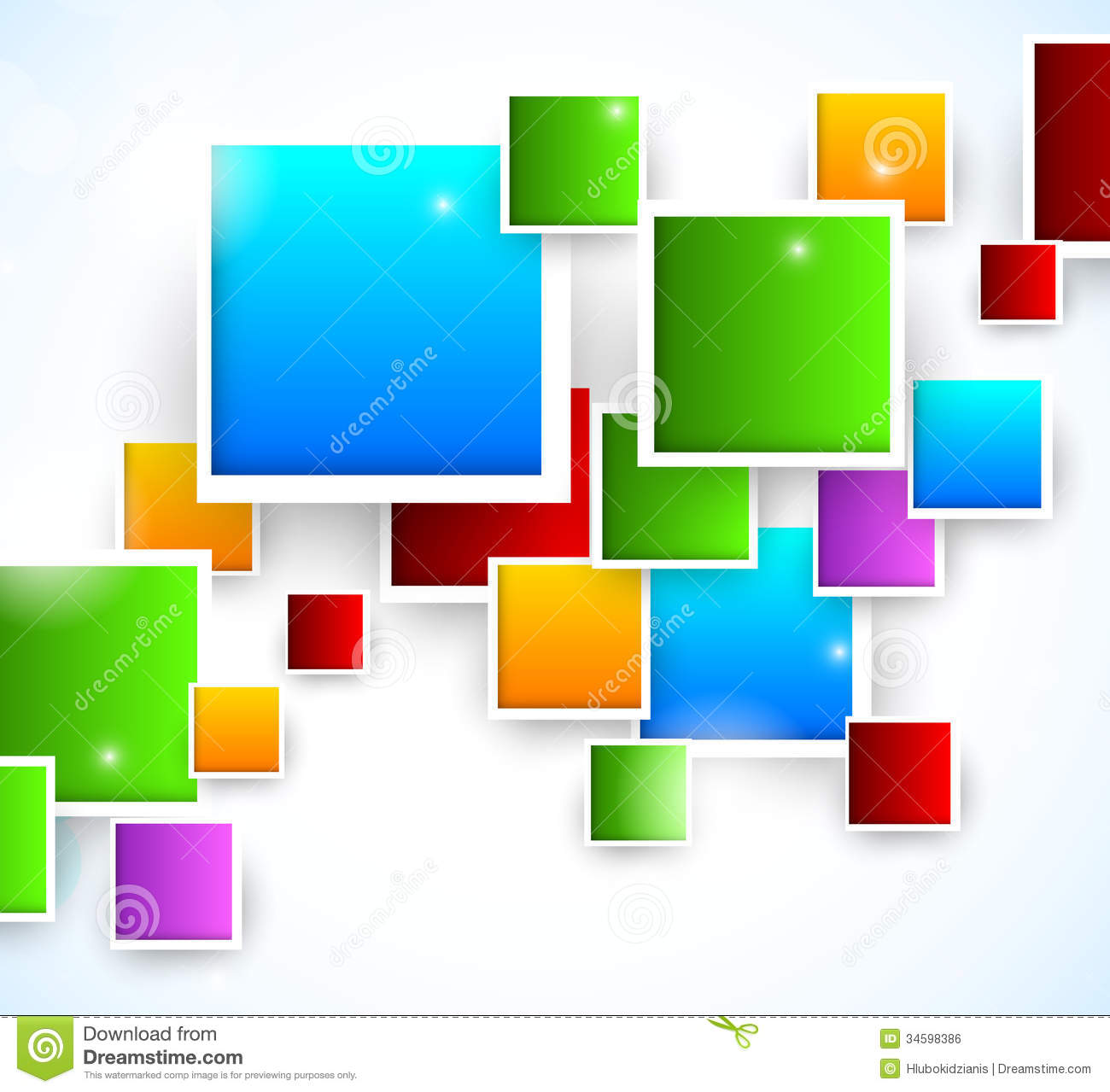 Abstract Background With Squares Royalty Free Stock Image