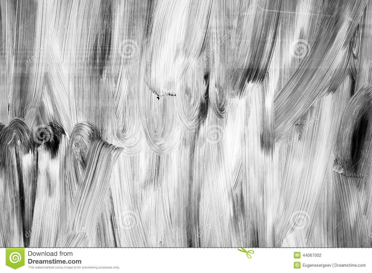 Abstract background texture, white paint pattern over glass