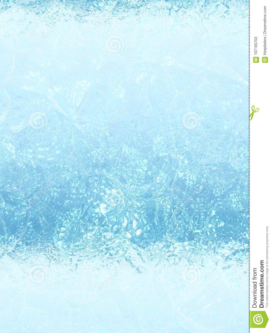 Icy Blue Background Texture Stock Image - Image of details, tones
