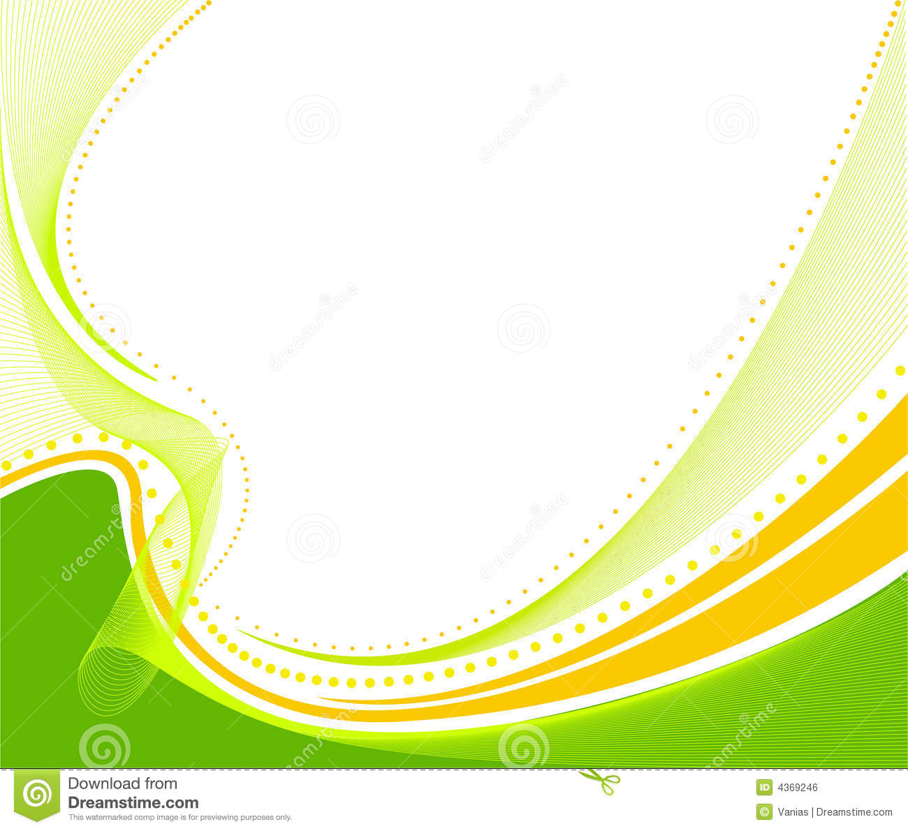 Nature Wall Murals Abstract Background Vector Royalty Free Stock Image