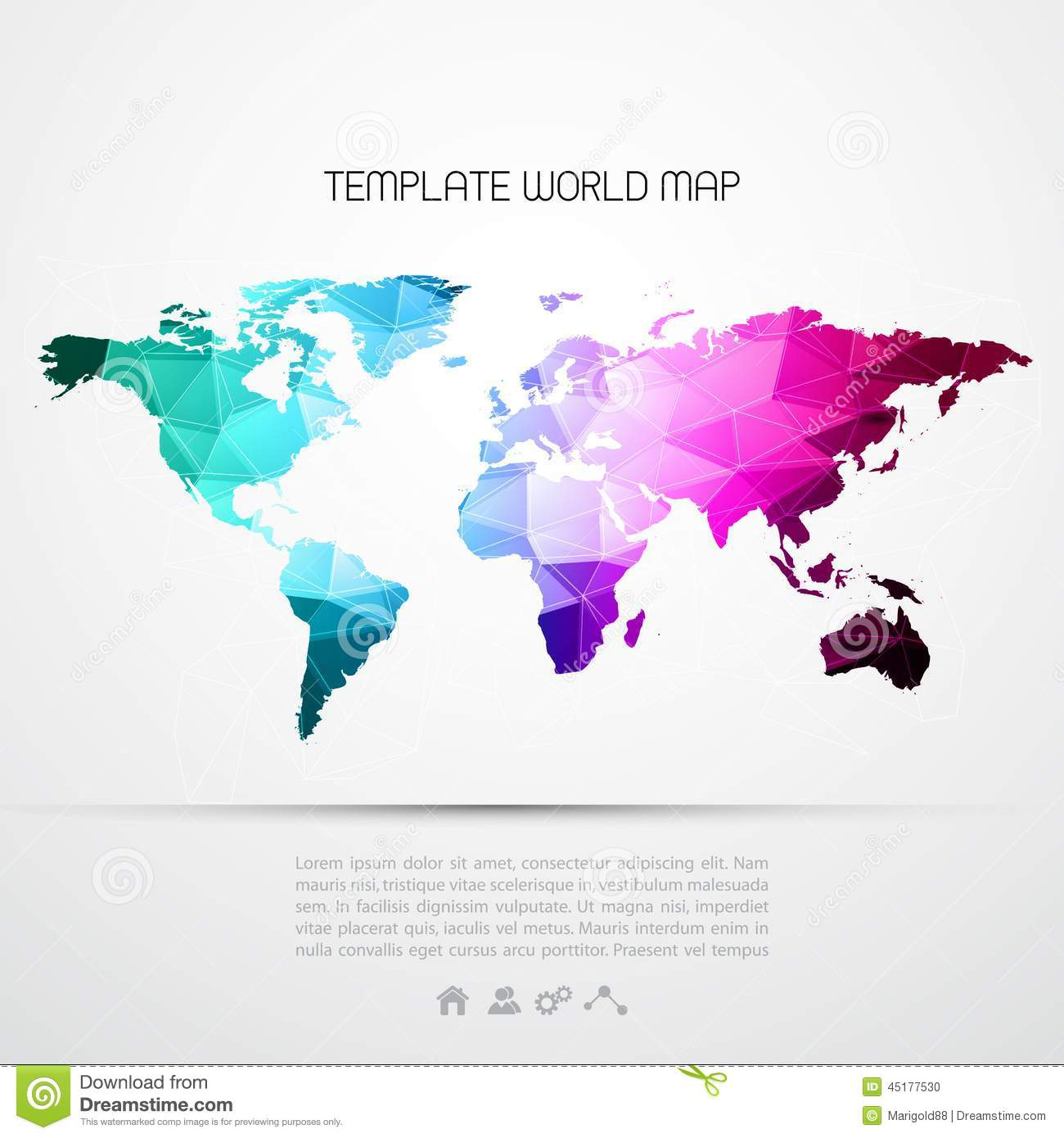 world map background vector - photo #13