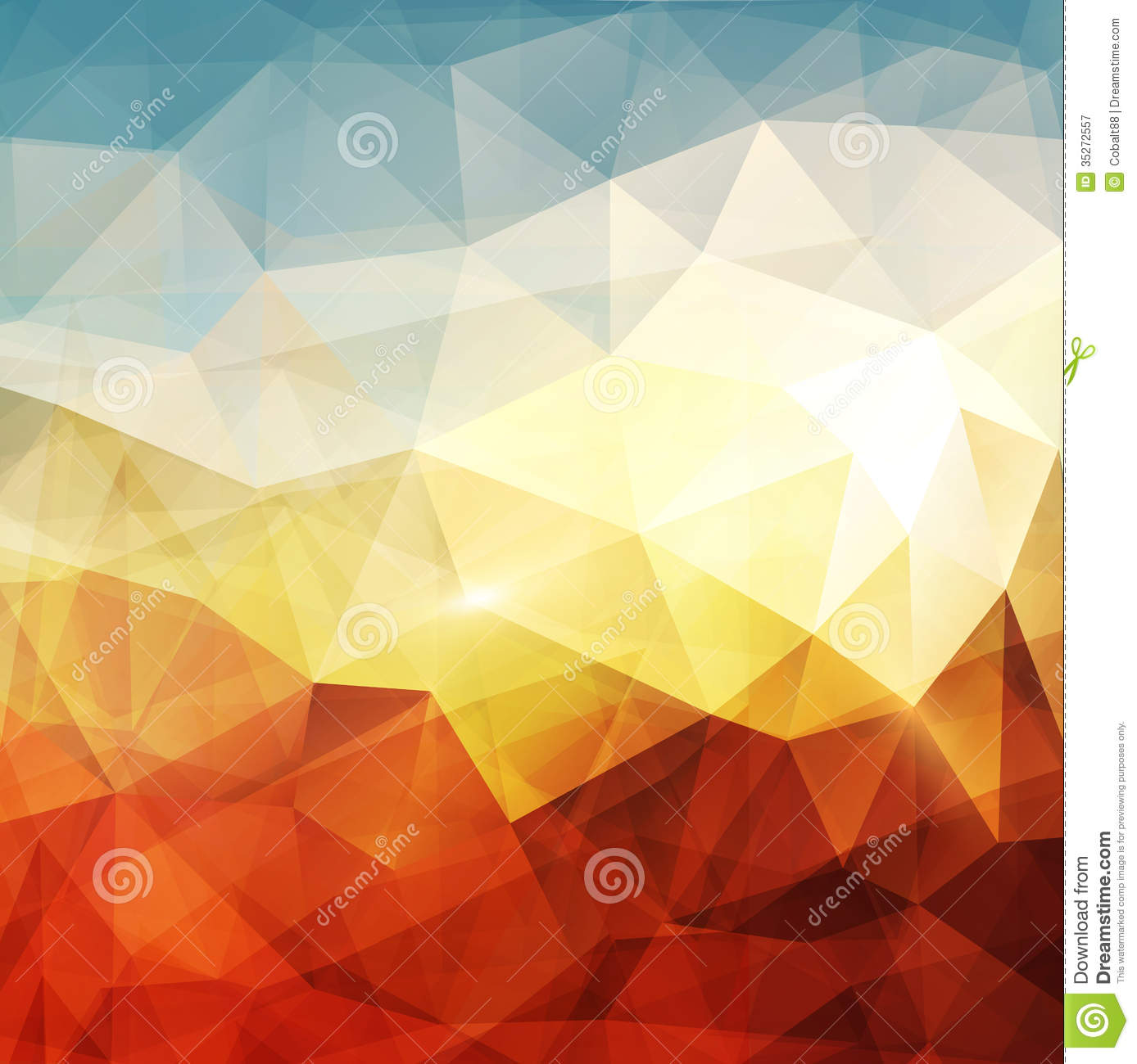 Abstract Background Stock Vector. Image Of Glow, Dynamic