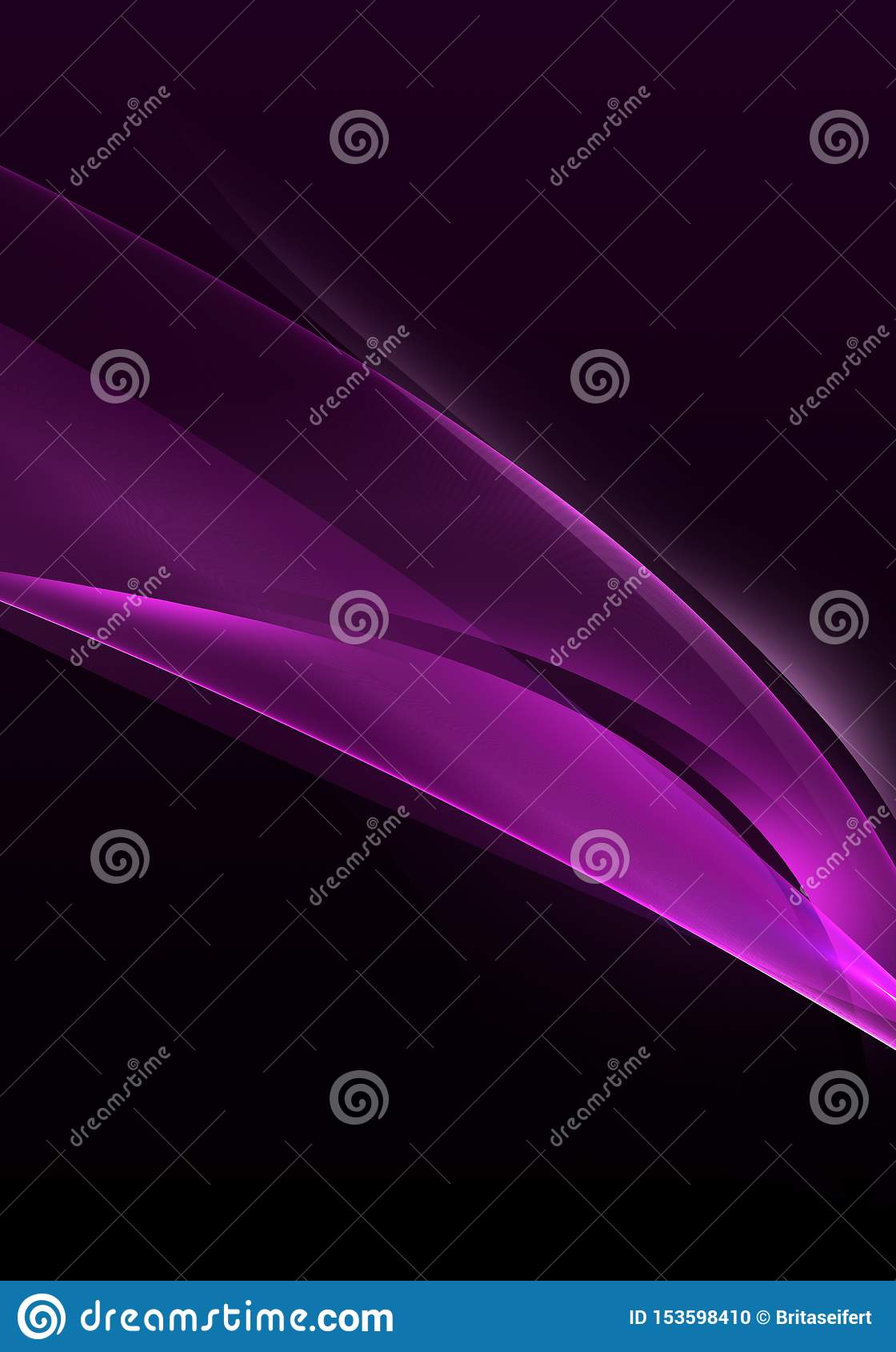 Abstract Background Waves Black And Purple Abstract Background