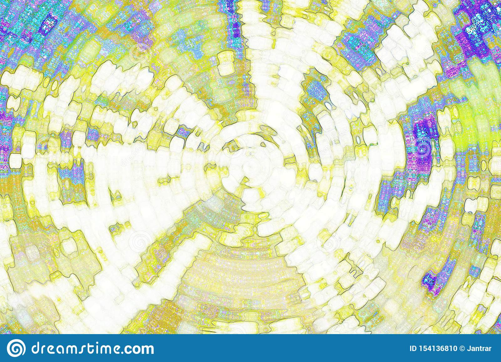 Abstract background, abstract yellow and blue background