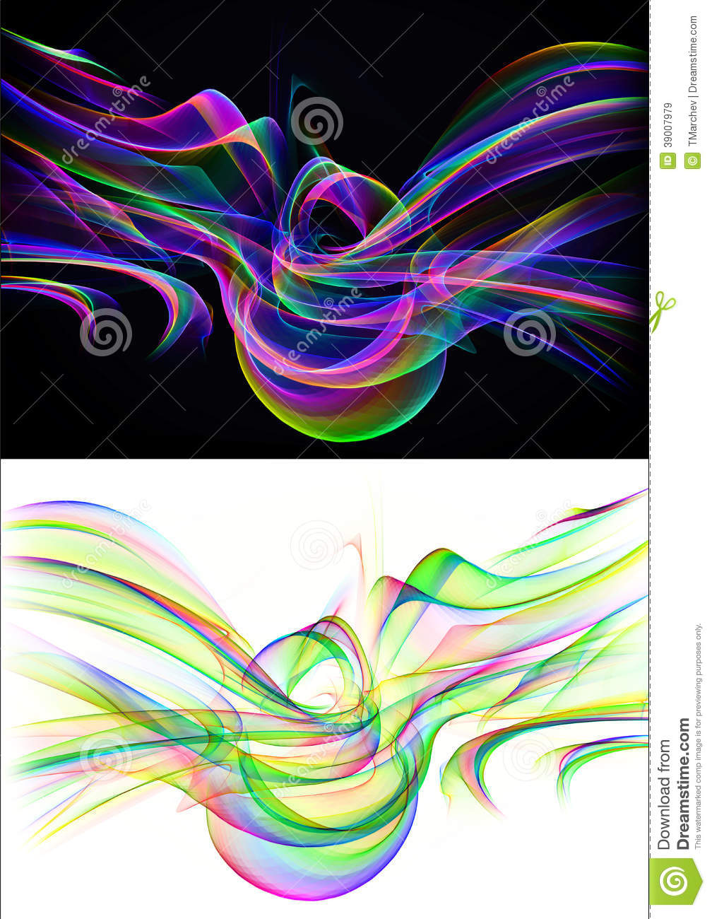 Abstract Backgrounds Stock Illustration Image