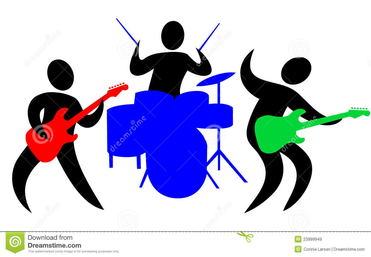 band cartoons illustrations amp vector stock images 88525