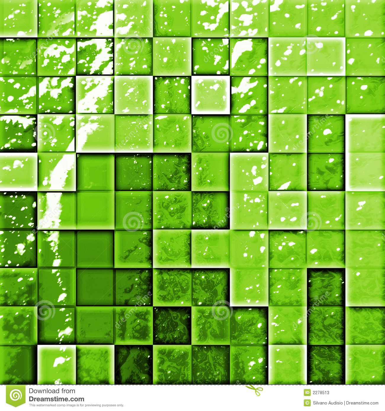 Abstract bathroom s tiles gree