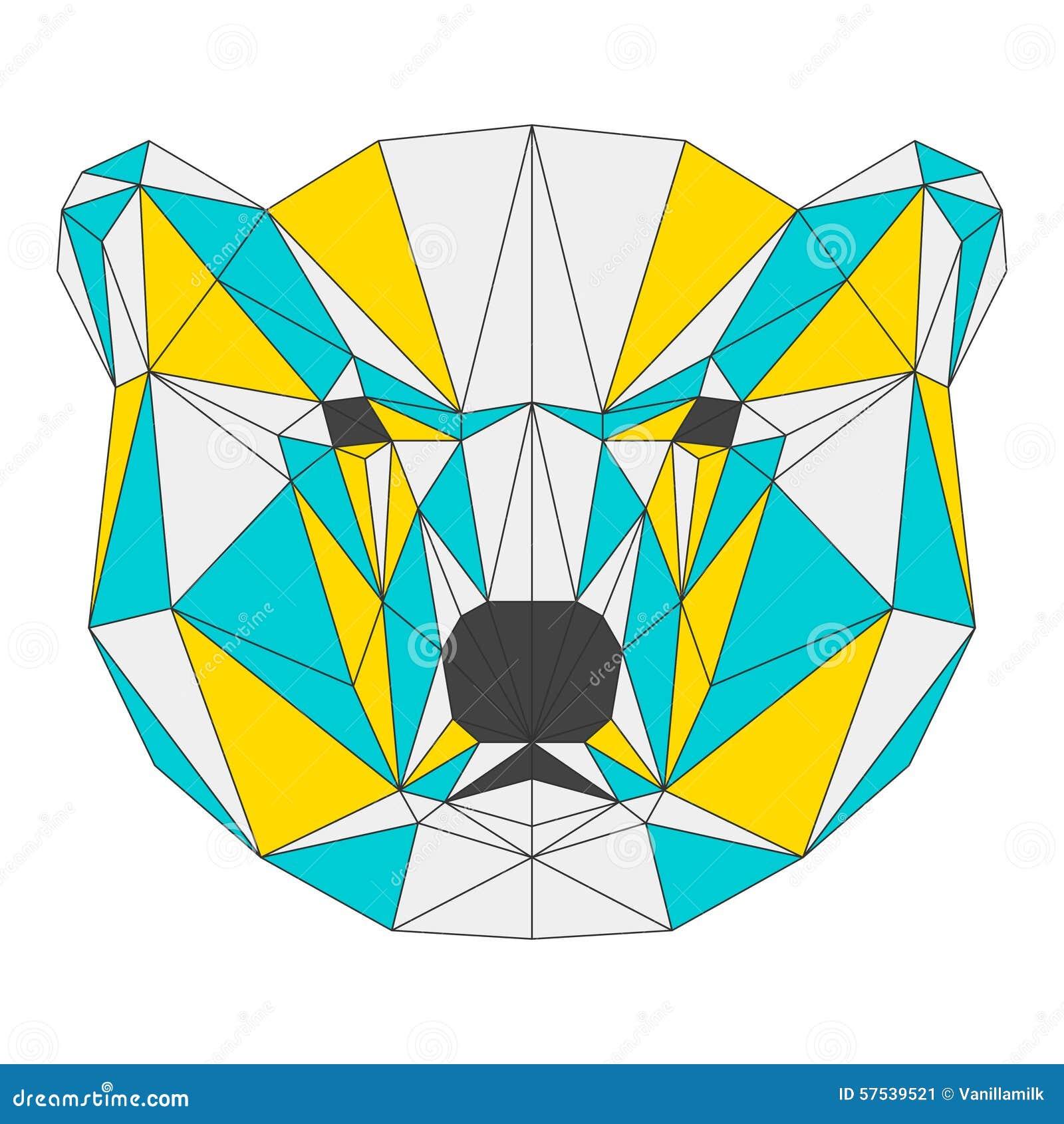 geometric yellow background illustration - photo #49