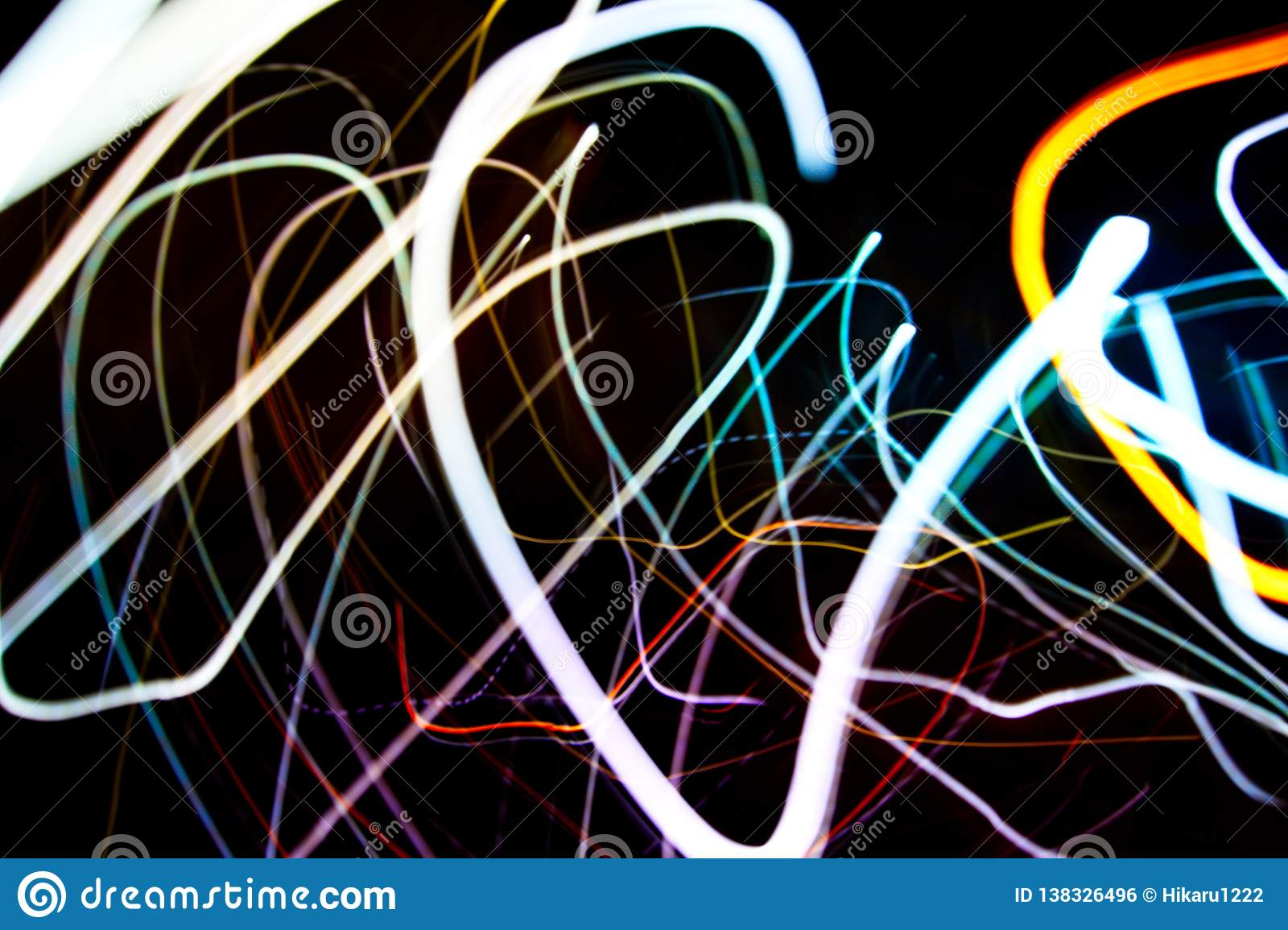 Holiday Lights In Abstract Slow Shutter >> Abstract Beautiful Light Painting Photography Waves Abstract Light