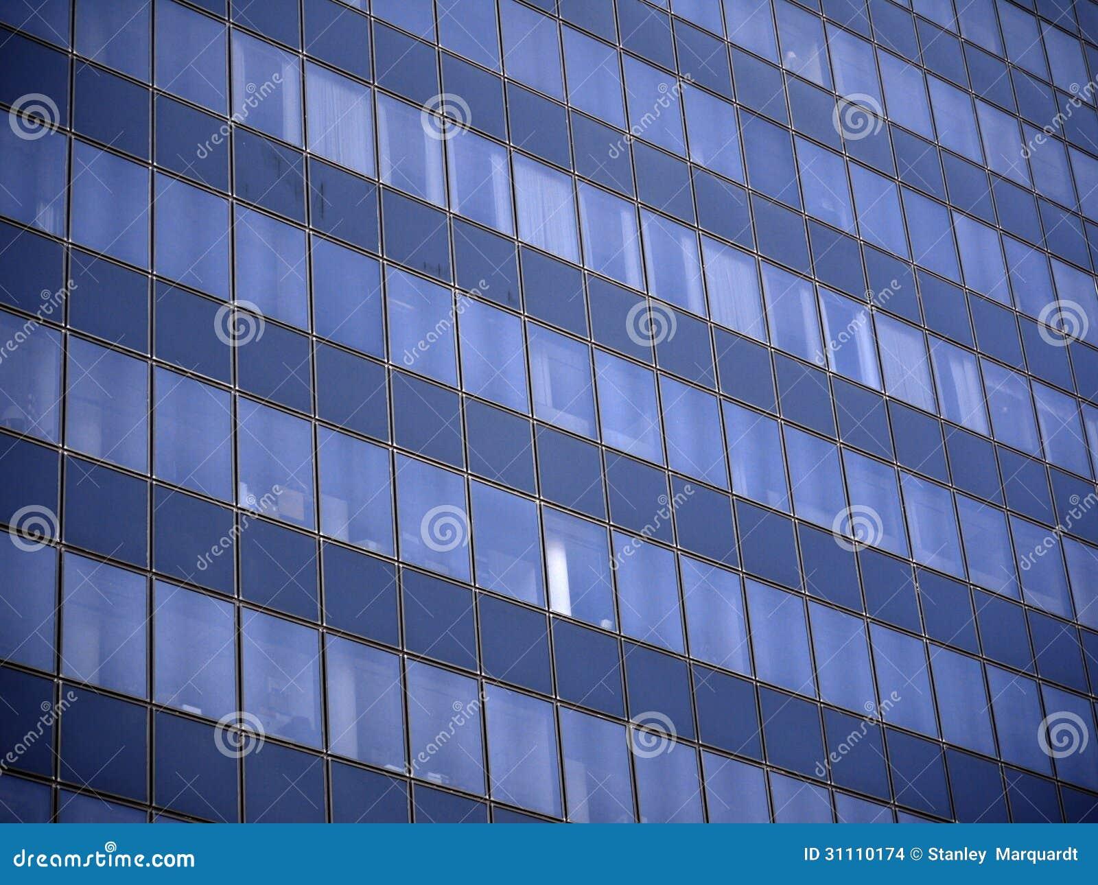 Abstract beeld van een bureaugebouw in Tyler Texas