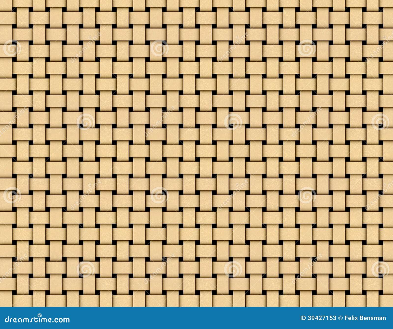 Abstract beige geel matwerk